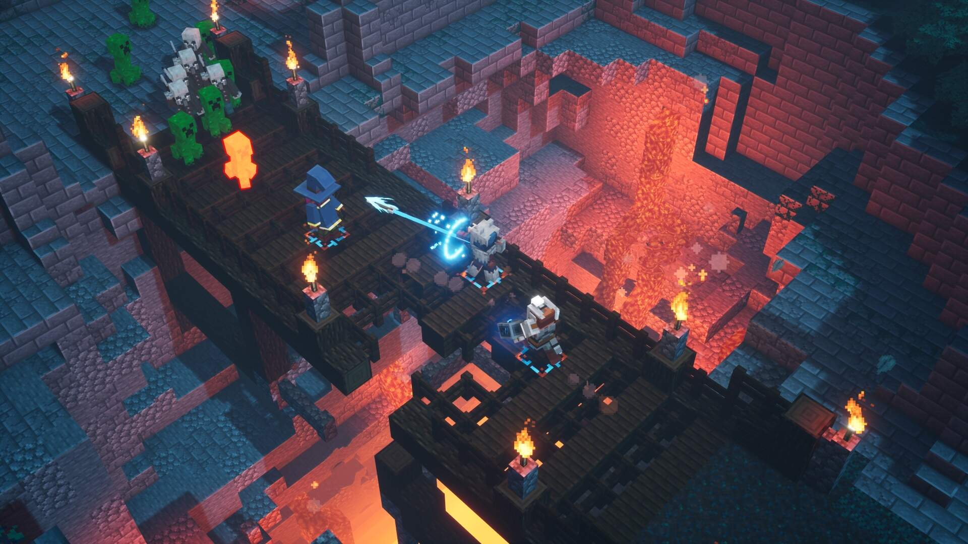Minecraft Dungeons Gets PC and Console Crossplay Next Week