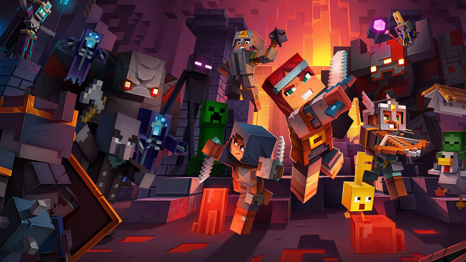 Minecraft Dungeons Review: Just Enough Loot For the Whole Family