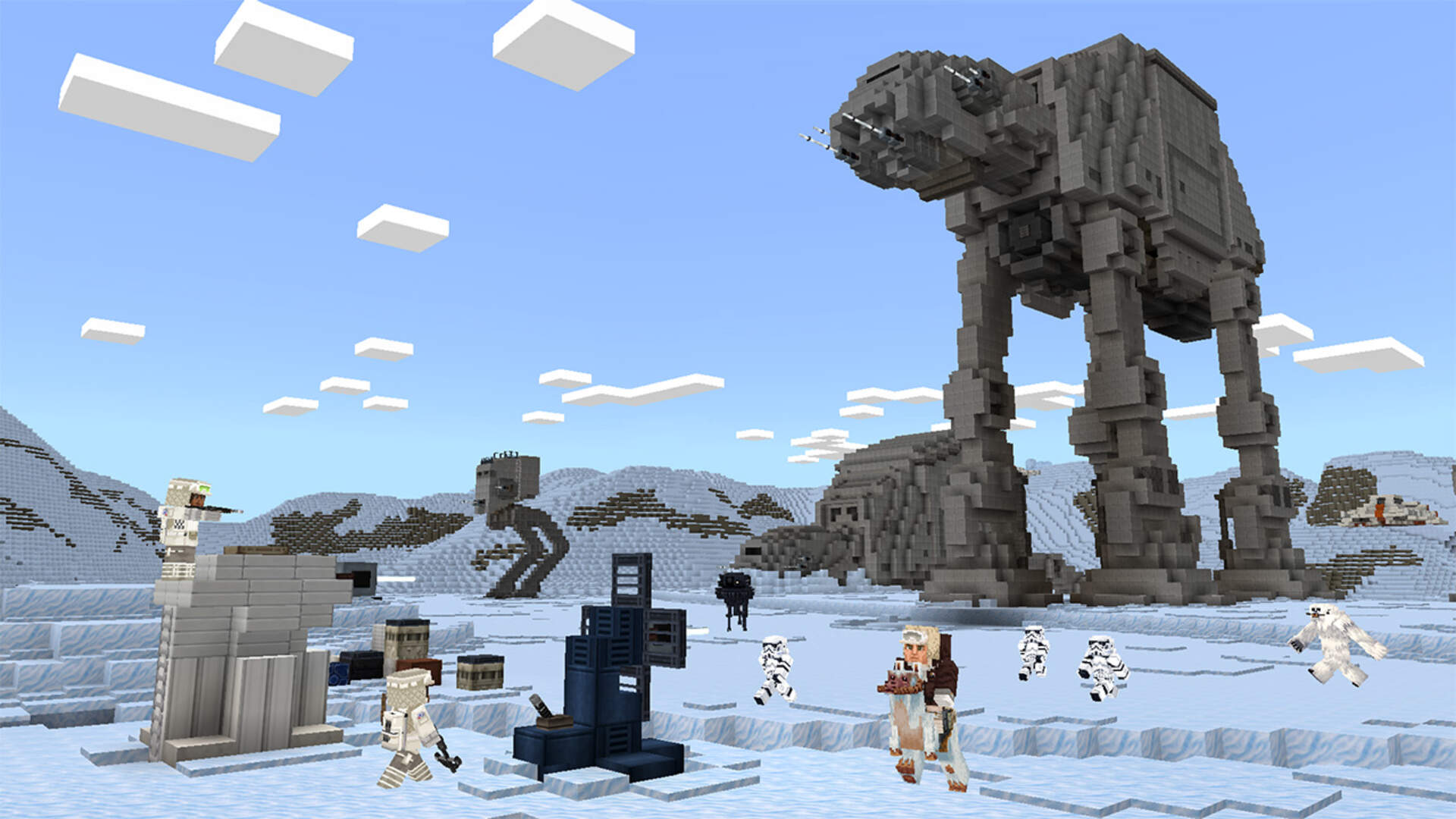 Minecraft's New Star Wars Add-On Ignores the Prequels and Sequels, Just Like You