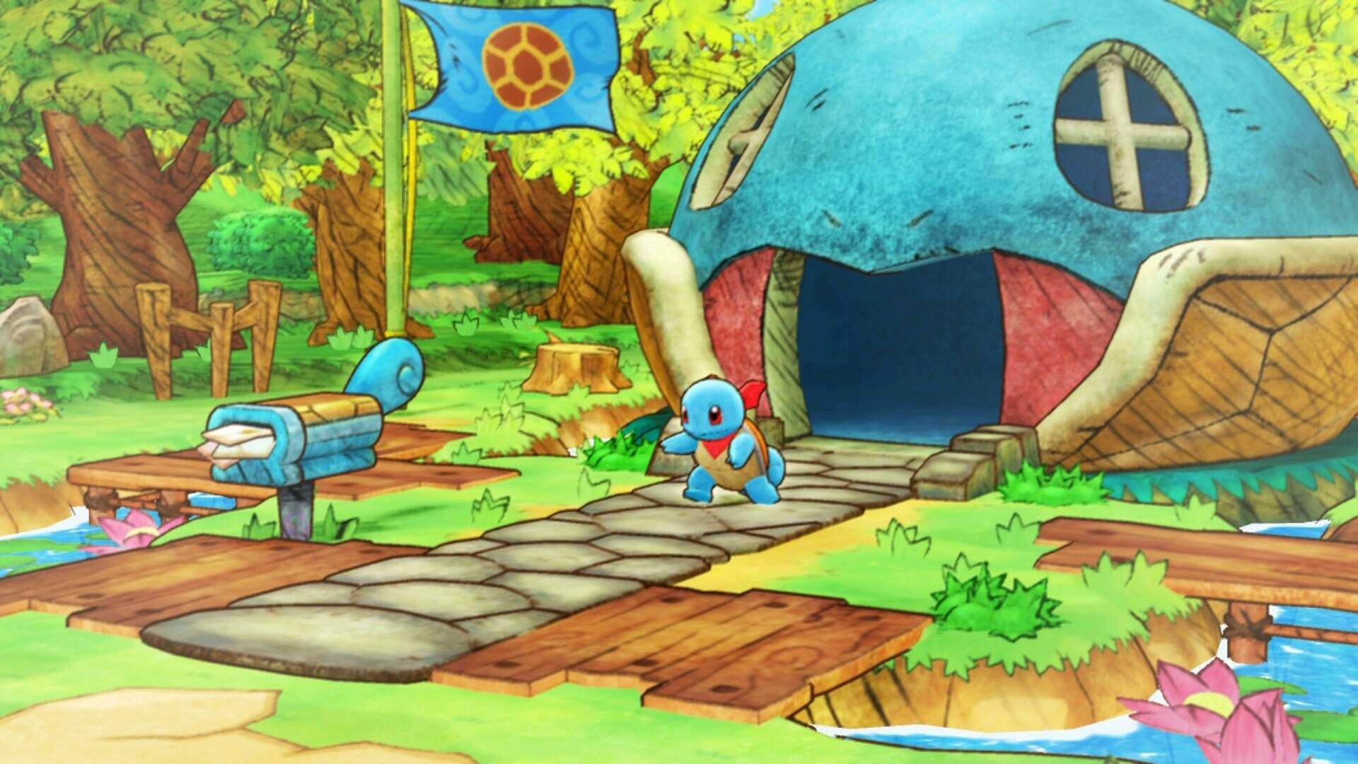 Pokemon Mystery Dungeon Rescue Team DX: How to Upgrade Your Team Base and Beat Mankey