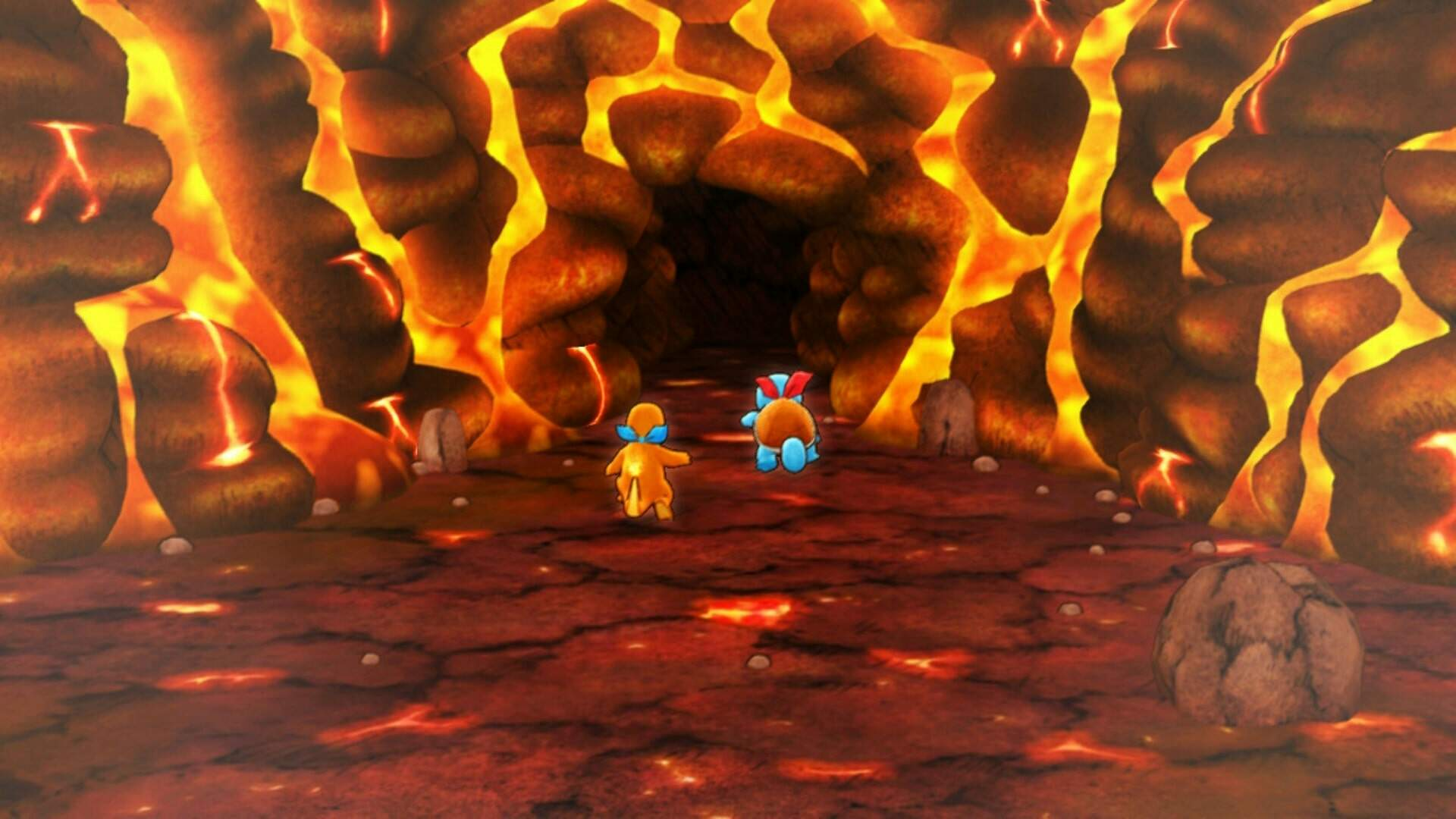Pokemon Mystery Dungeon Rescue Team DX: How to Move Across All Terrains