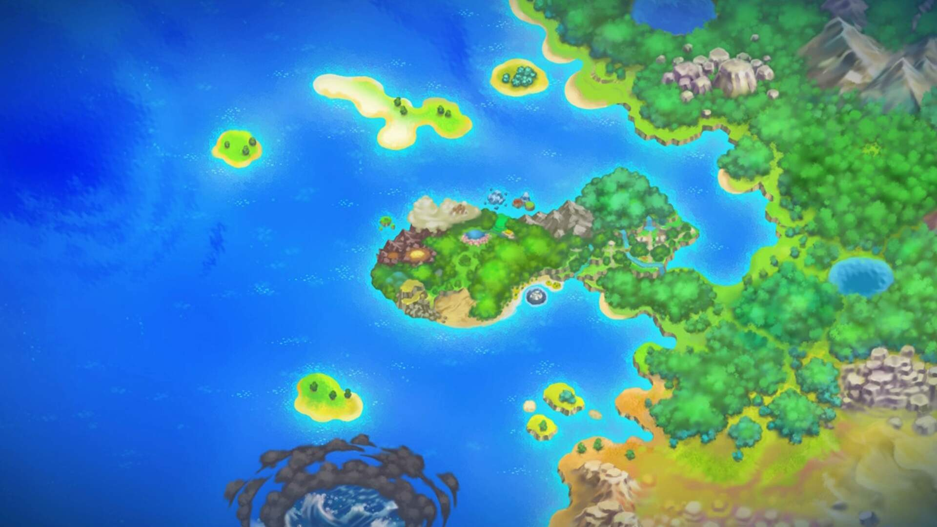 Pokemon Mystery Dungeon Rescue Team DX: Why Can't I See Enemies and Items on the Map?