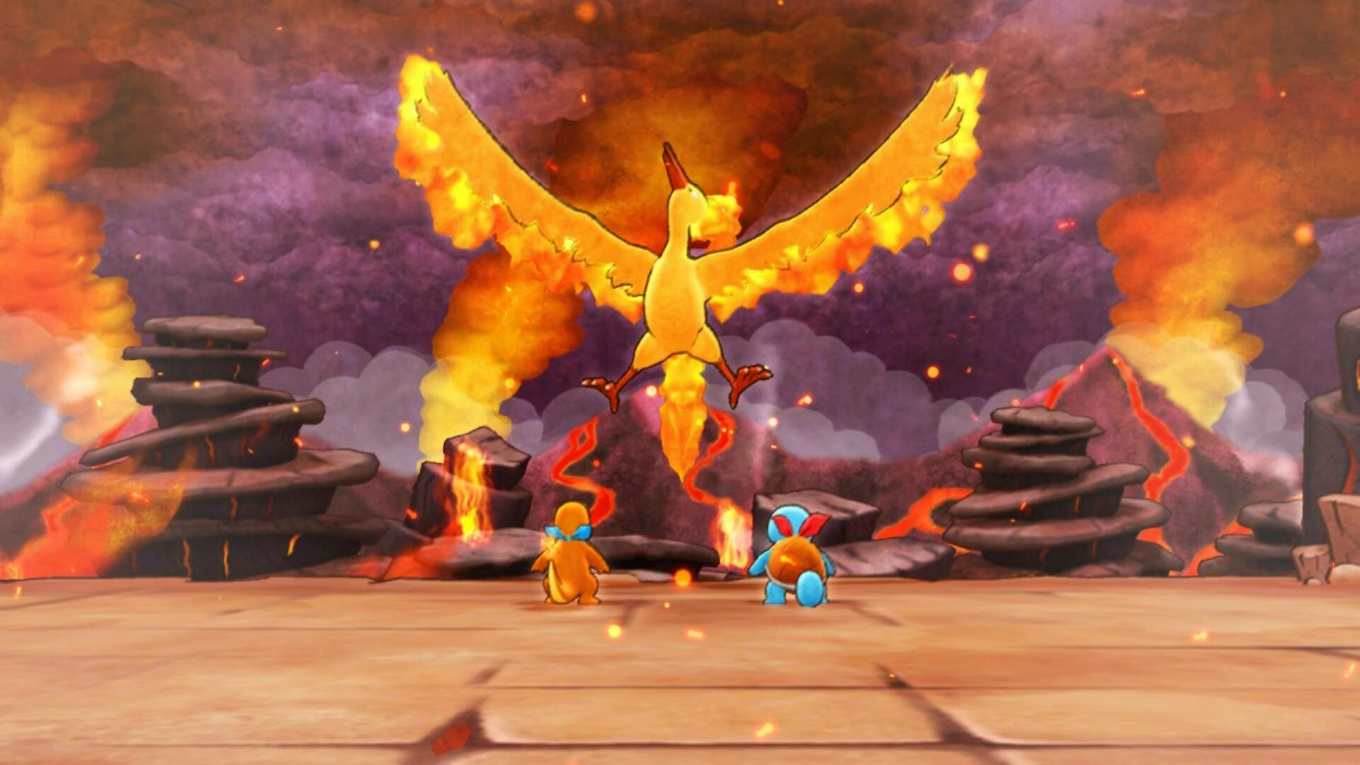 Pokemon Mystery Dungeon Rescue Team DX: How to Beat the Moltres Boss Fight