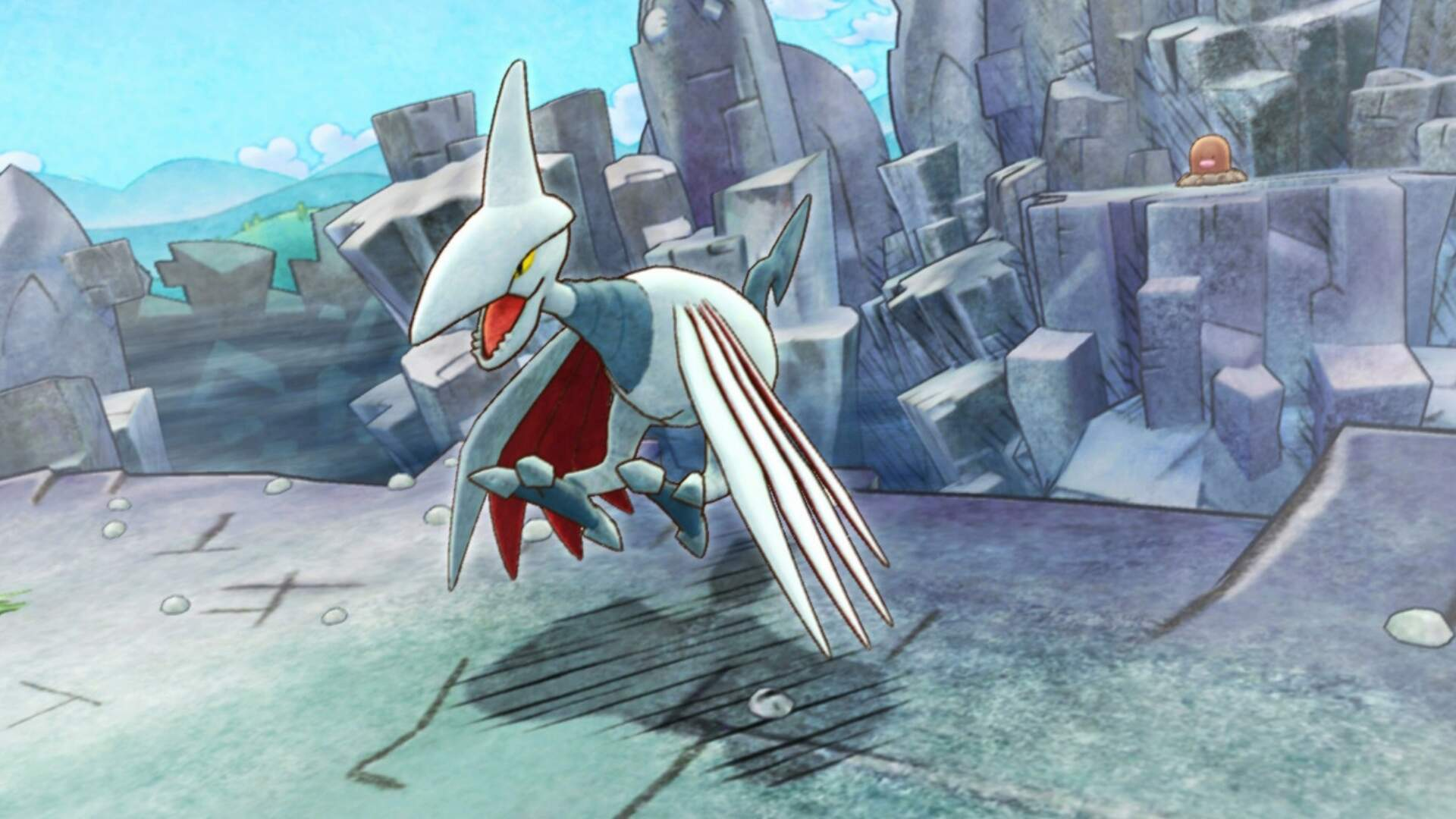 Pokemon Mystery Dungeon Rescue Team DX: How to Beat the Skarmory Boss Fight