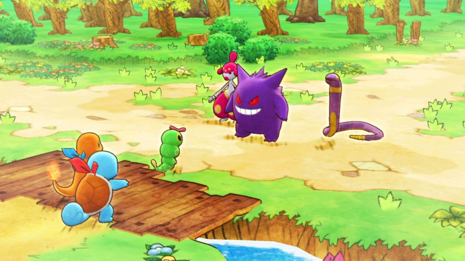 Pokemon Mystery Dungeon Rescue Team DX: How to Beat the Team Meanies Boss Fight