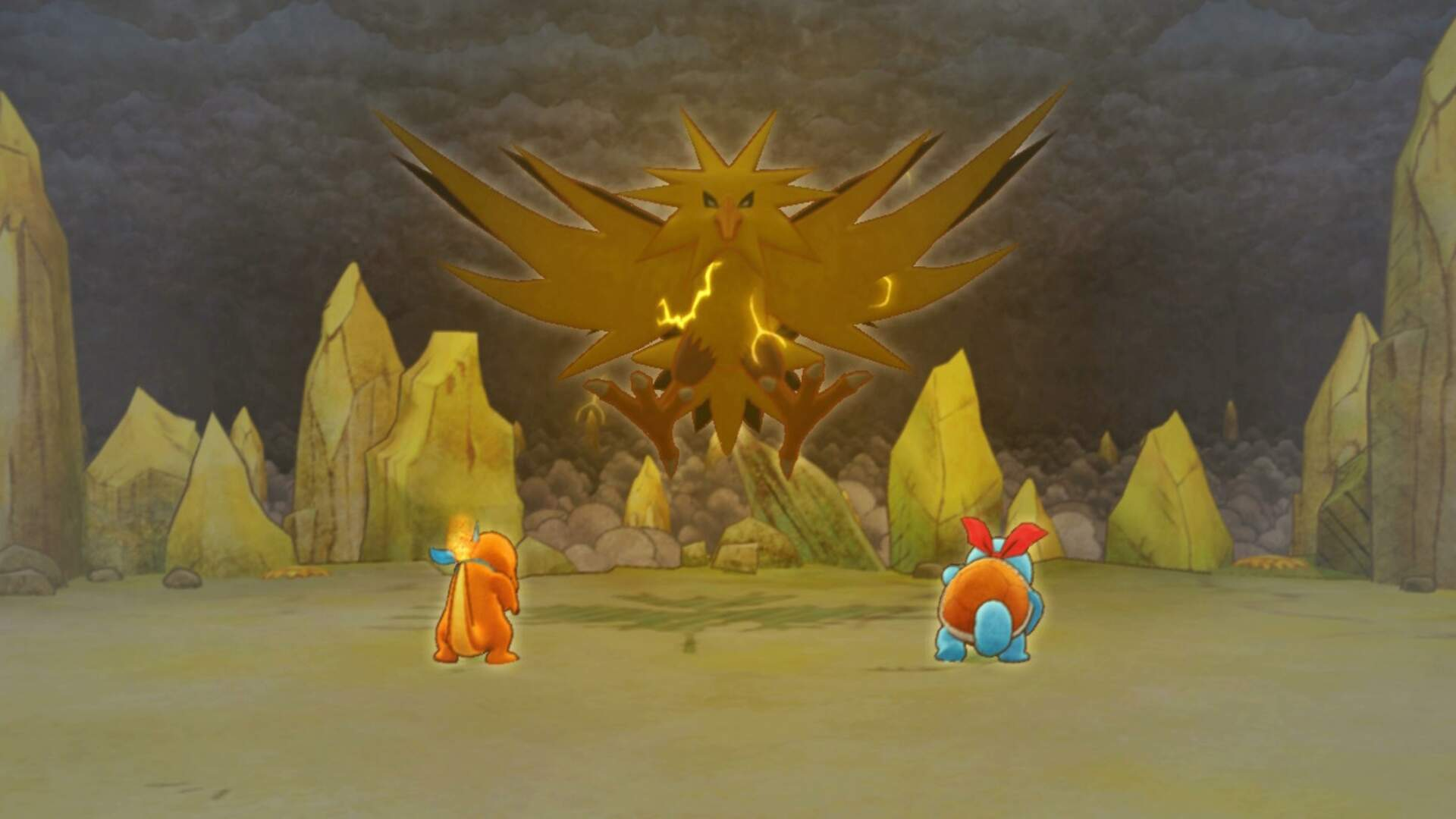Pokemon Mystery Dungeon Rescue Team DX: How to Beat the Zapdos Boss Fight