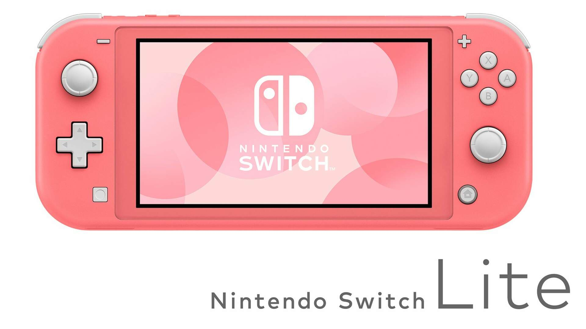 The Nintendo Switch Lite is Getting a Lovely Coral Pink Version This Spring