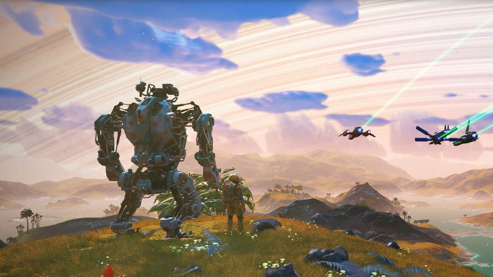 No Man's Sky: How to Get the Exo Mech Suit