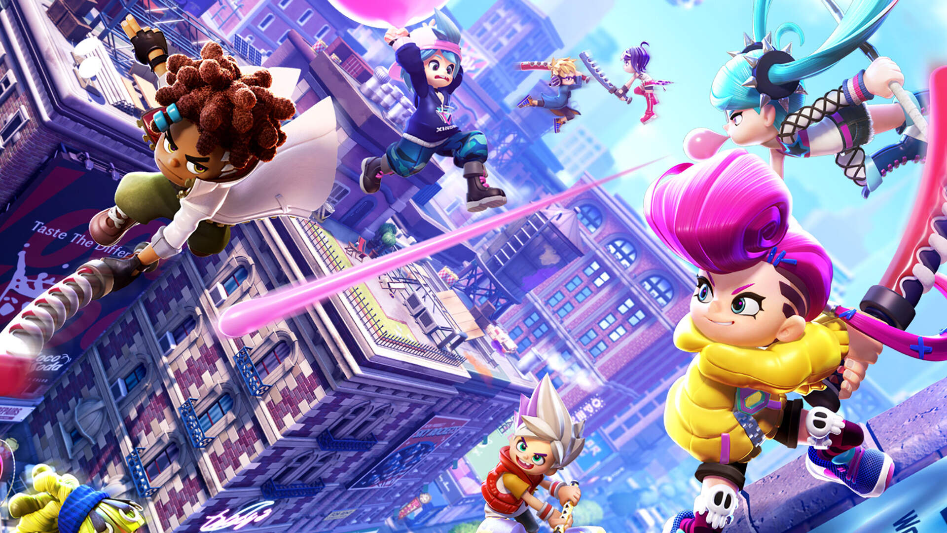 The Splatoon-Like Ninjala, Developed by the Creators of Puzzle and Dragons, Has Been Delayed