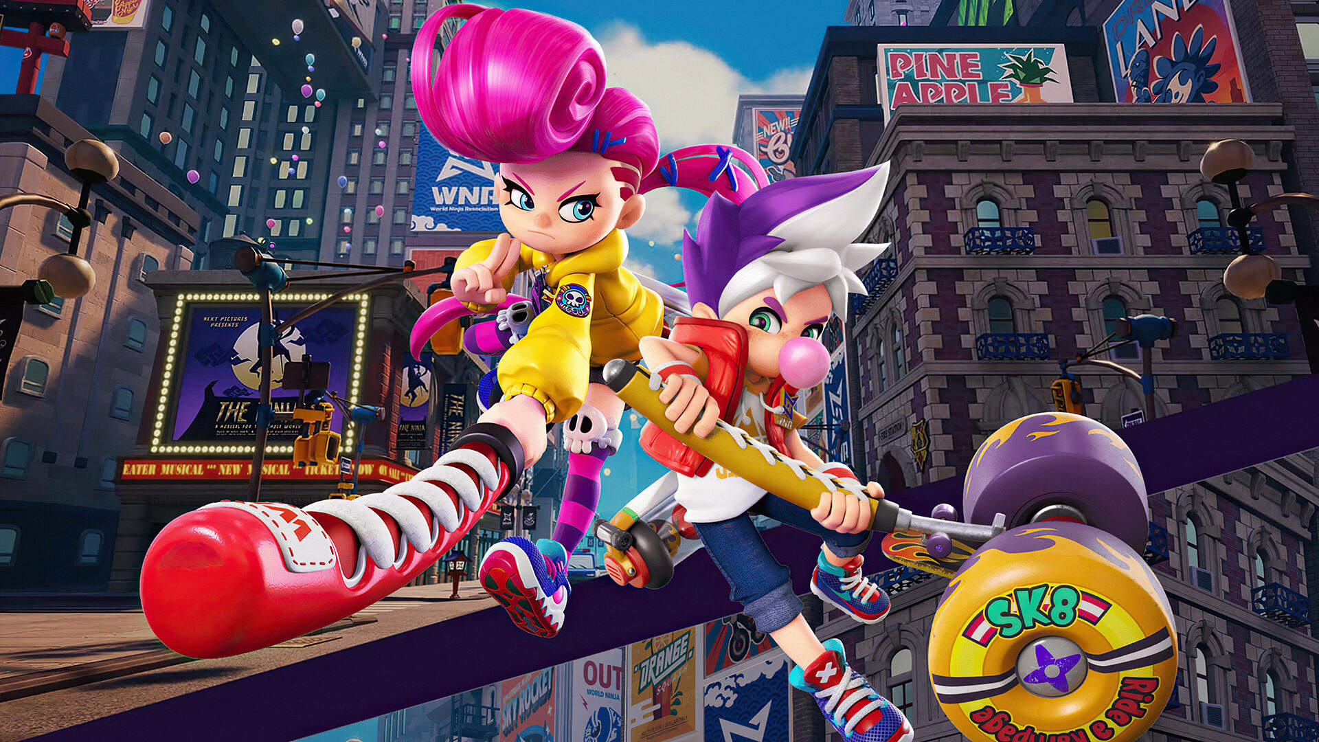 Ninjala Review: Chewing Bubblegum and Kicking Butt, for a Price