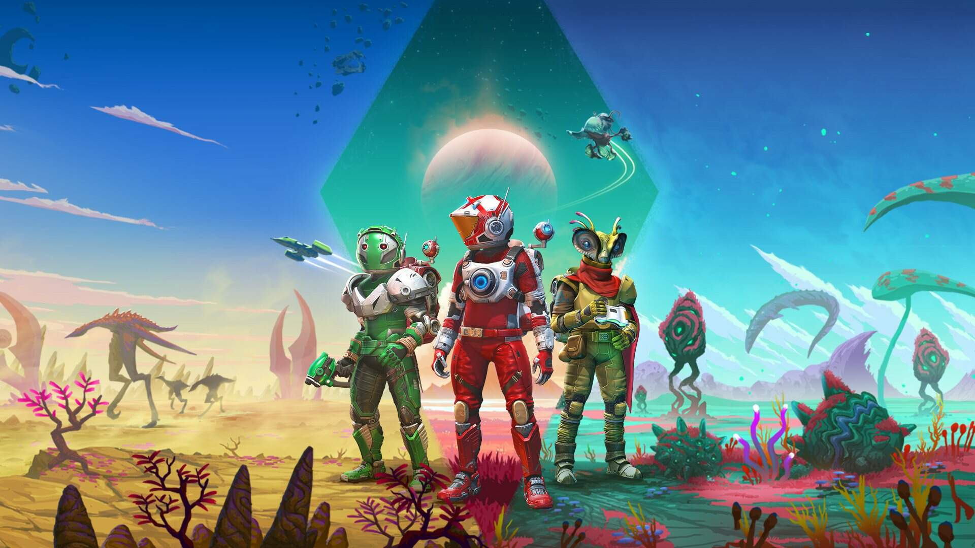 No Man's Sky's Origins Update Adds Richer Planets and Some Really Big Worms