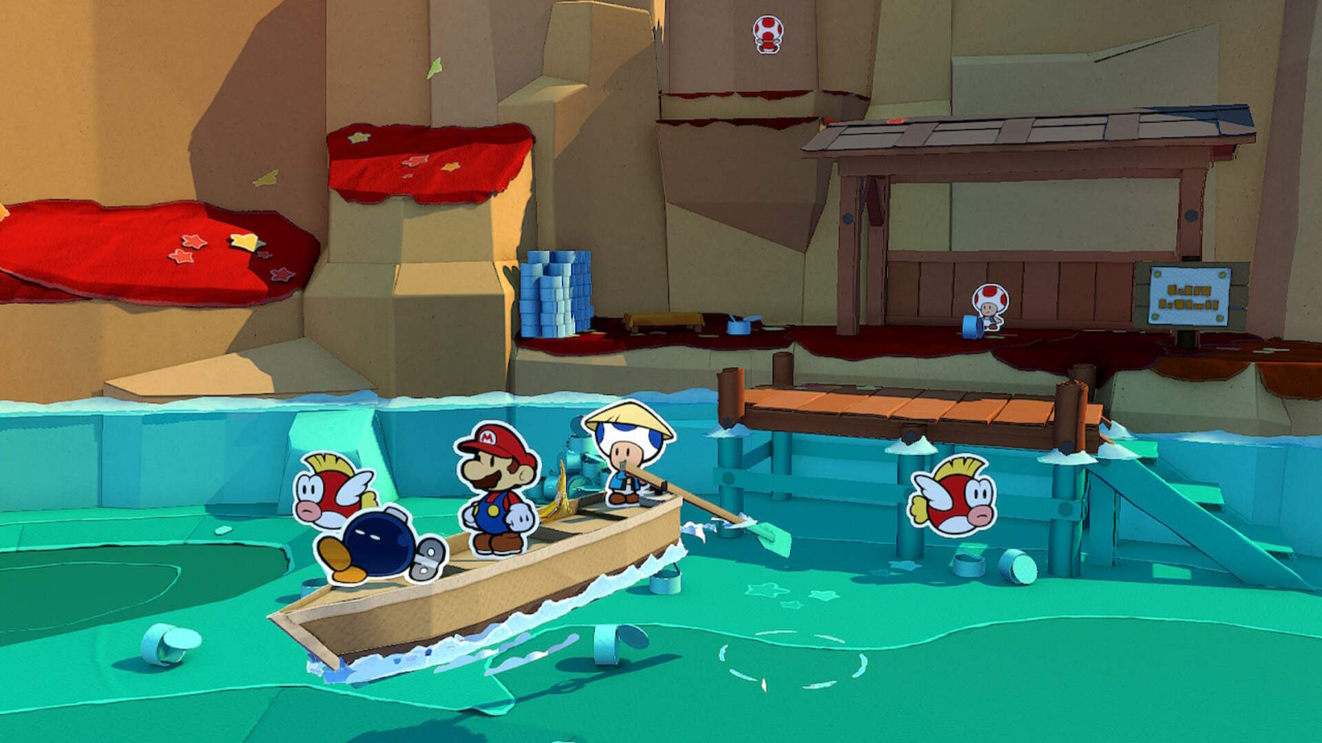Paper Mario The Origami King: What Is the Reward For Completing the Eddy River Rapids?