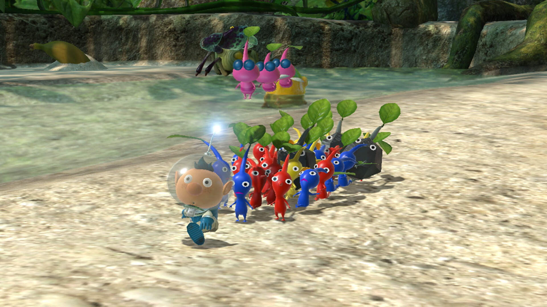 "The Pikmin 3 Deluxe Demo Has a ""Hidden"" Boss, Speedrunner Discovers"