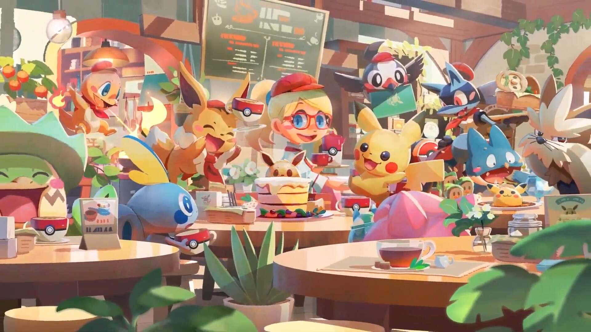Pokemon Cafe Mix Is One Part Coffee Shop Sim, Several Parts Tsum Tsum