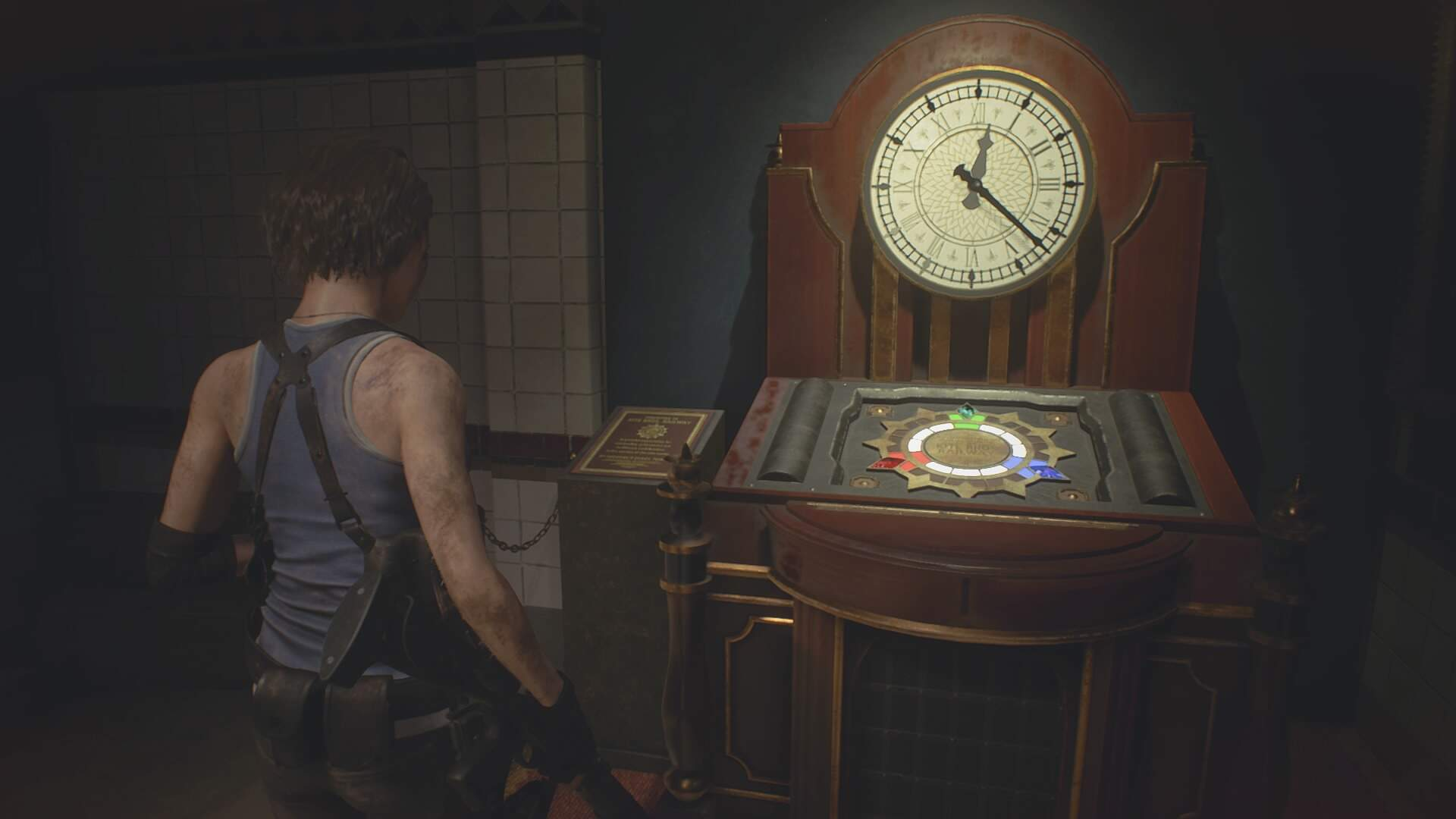 Resident Evil 3: How to Solve the Fancy Box and Subway Station Monument Puzzle