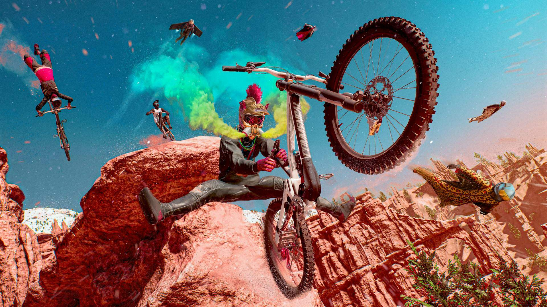 Ubisoft Reveals Riders Republic, a Multiplayer Extreme Sports Sandbox