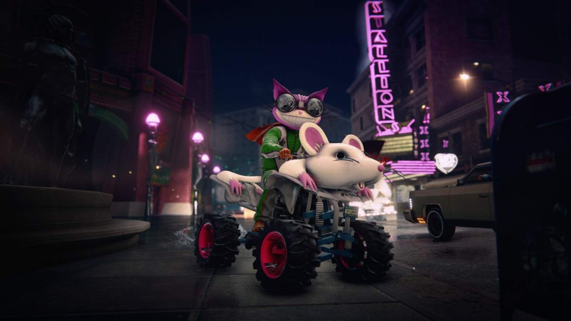 Rumored Saints Row: The Third Remaster Lands Next Month and It's Surprisingly Gorgeous
