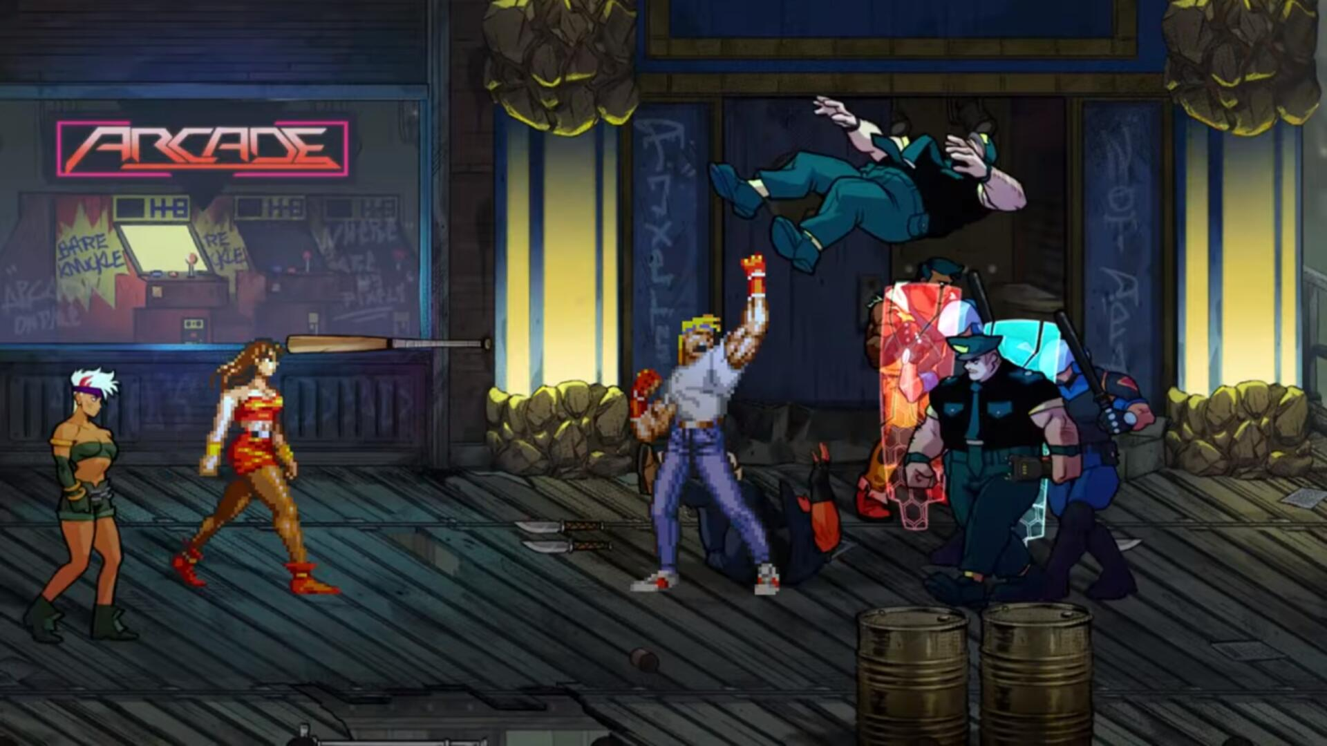 "Streets of Rage 4 Publisher Responds to Release Date Leaks: ""We ..."