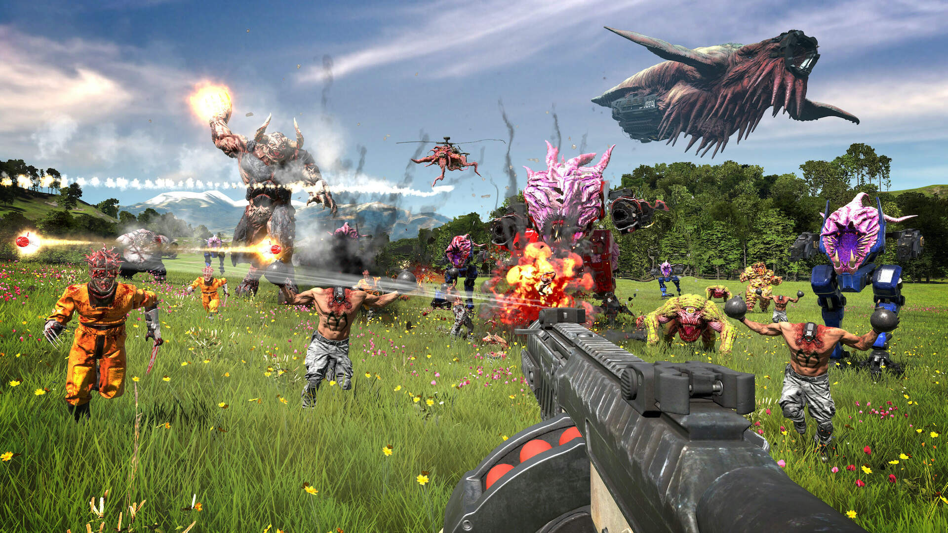 Serious Sam 4 Nails Down Release Window, Announces Limited PC and Stadia Exclusivity