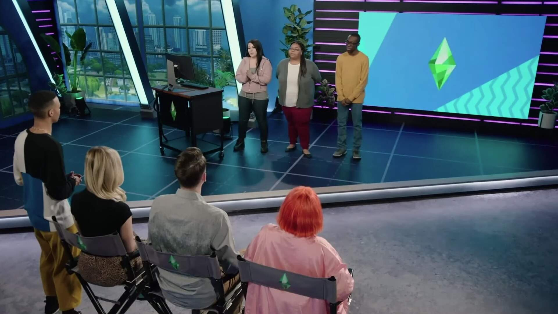 A Sims Reality Show Hosted by an American Idol Finalist Is Coming to TBS