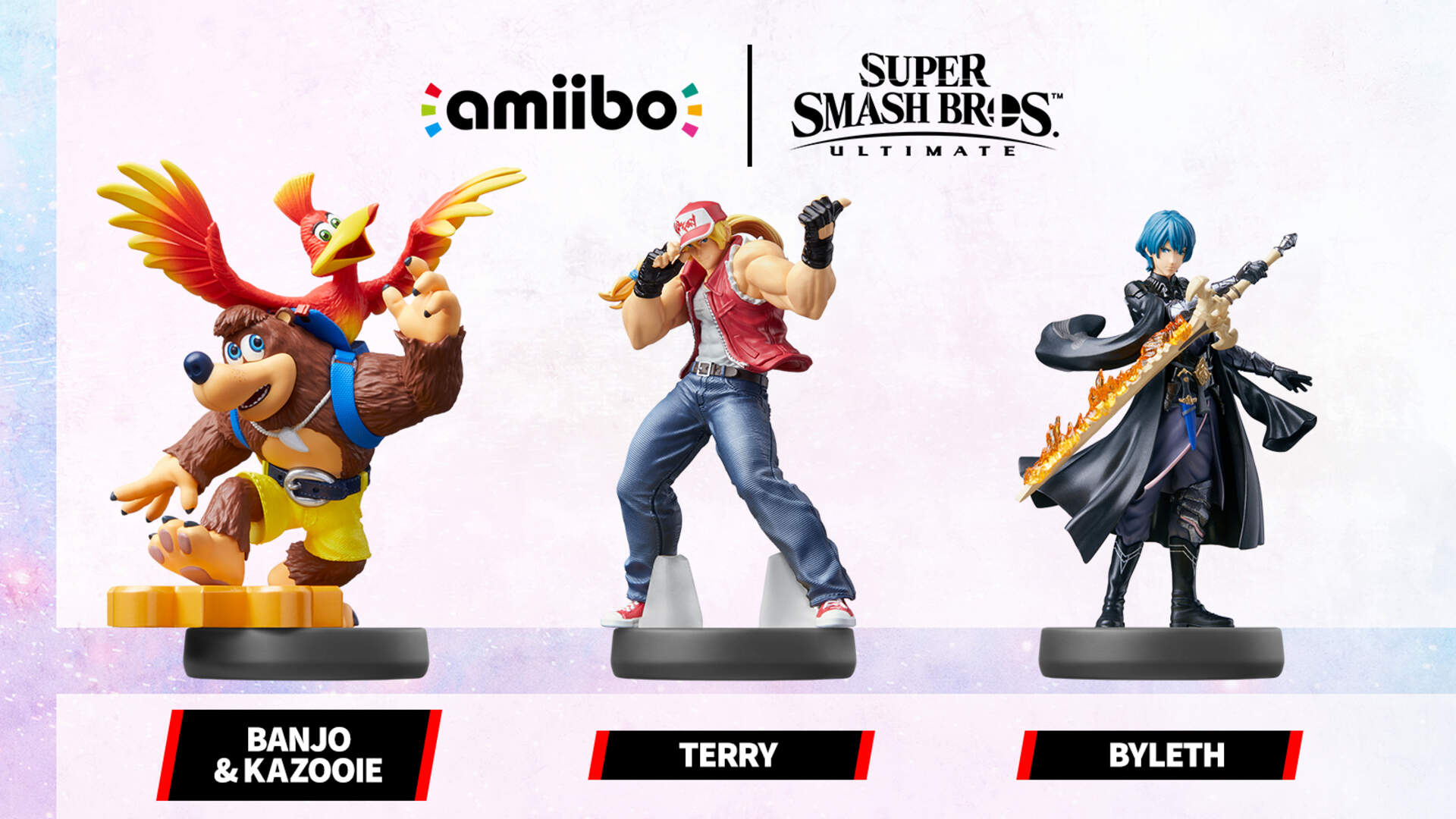 Banjo-Kazooie, Byleth, and Terry Are All Getting Smash Amiibos… in Fall 2021