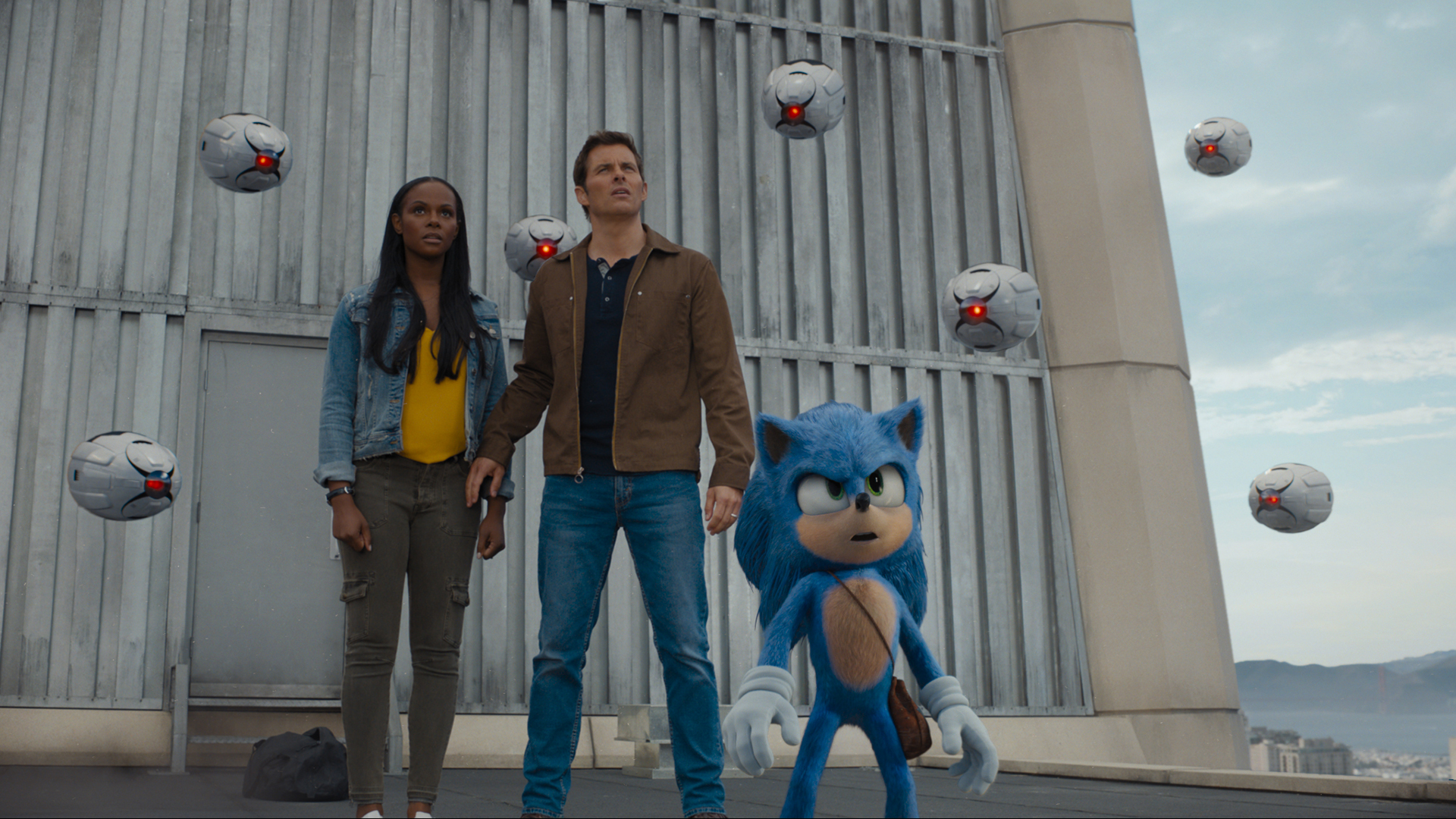 All The Sega References And Easter Eggs We Spotted In The Sonic The Hedgehog Movie Usgamer