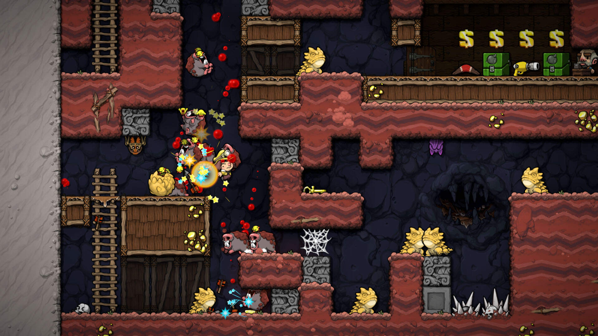Spelunky 2 Will Have Its First World Rebalanced in a Patch Coming Soon