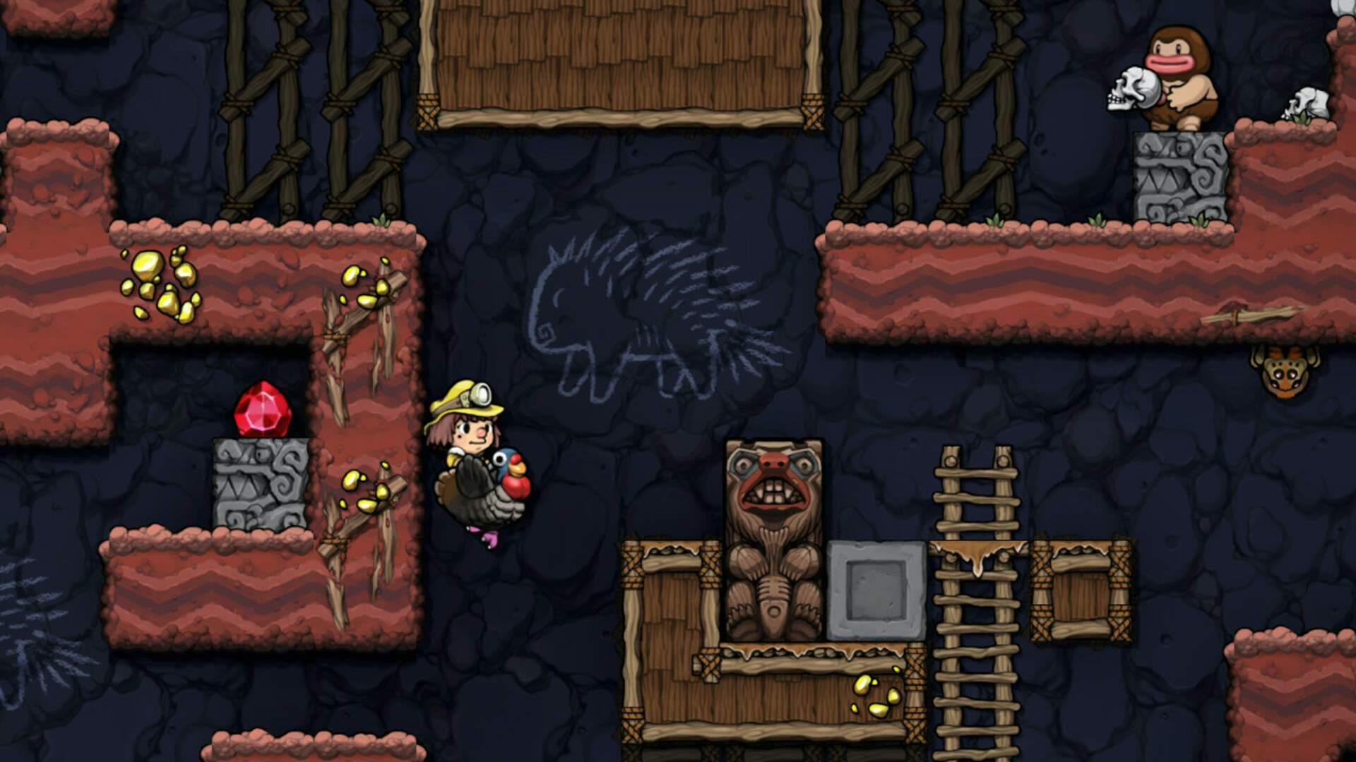 Spelunky and Spelunky 2 Coming to Switch Next Summer