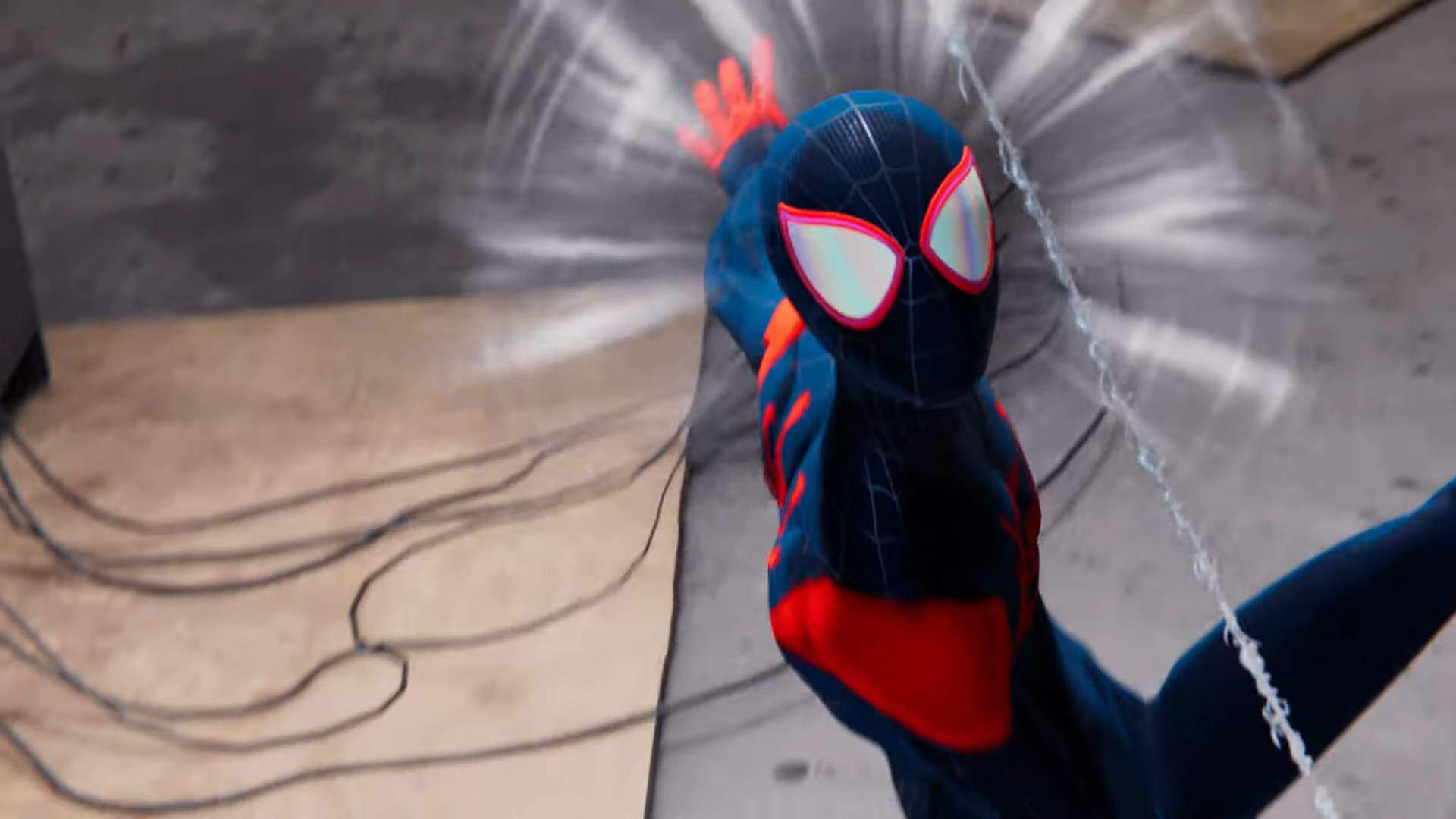 Spider-Man: Miles Morales Goes Into the Spider-Verse With a Specially Animated Suit | USgamer