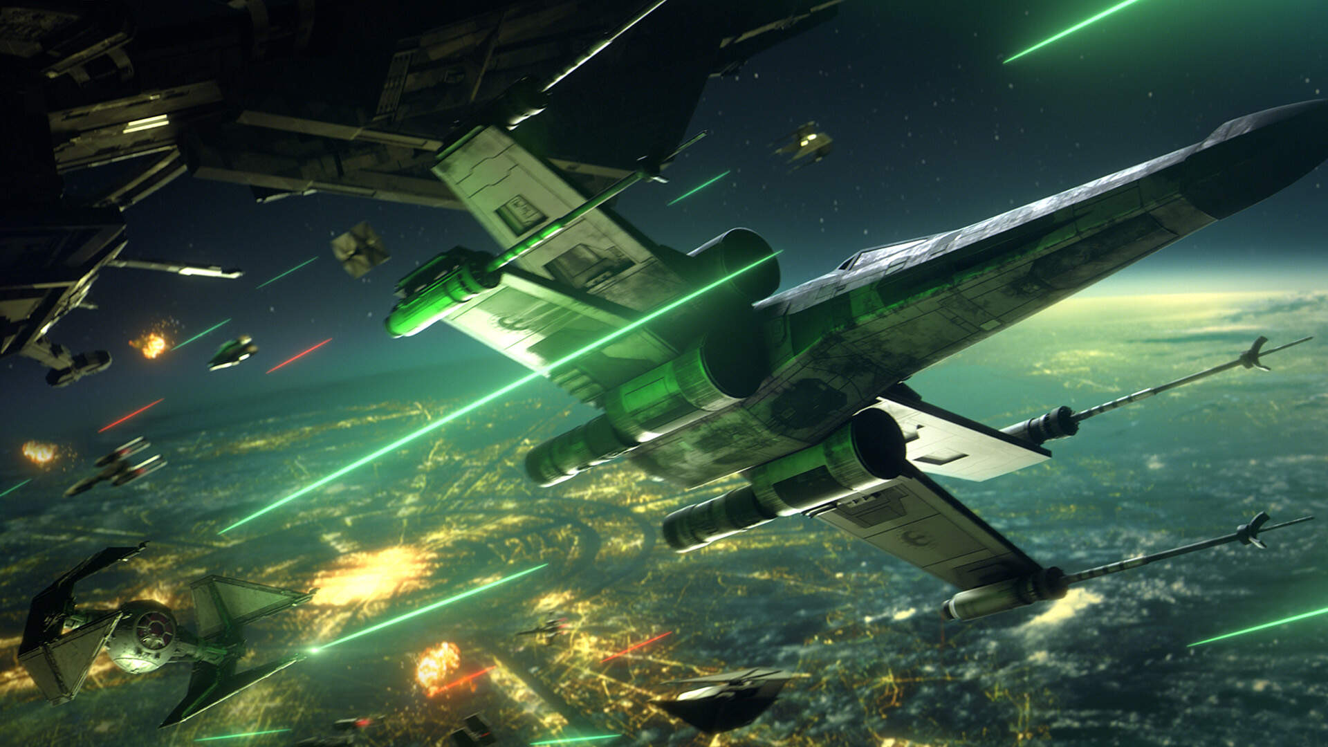 Star Wars: Squadrons Is a New Story Set After Return of the Jedi