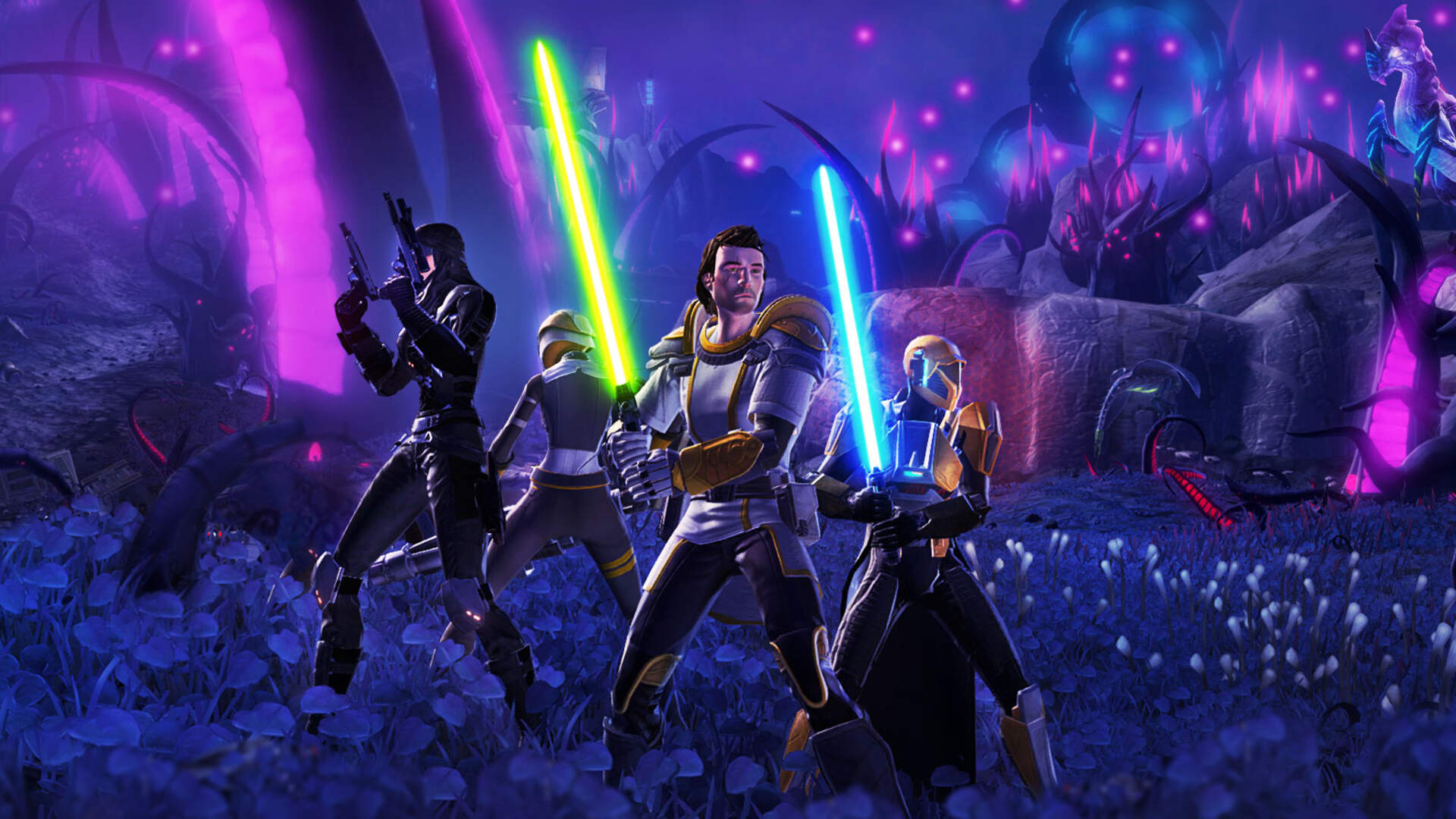 Star Wars: The Old Republic Hits Steam With Crossplay and Cross-Save