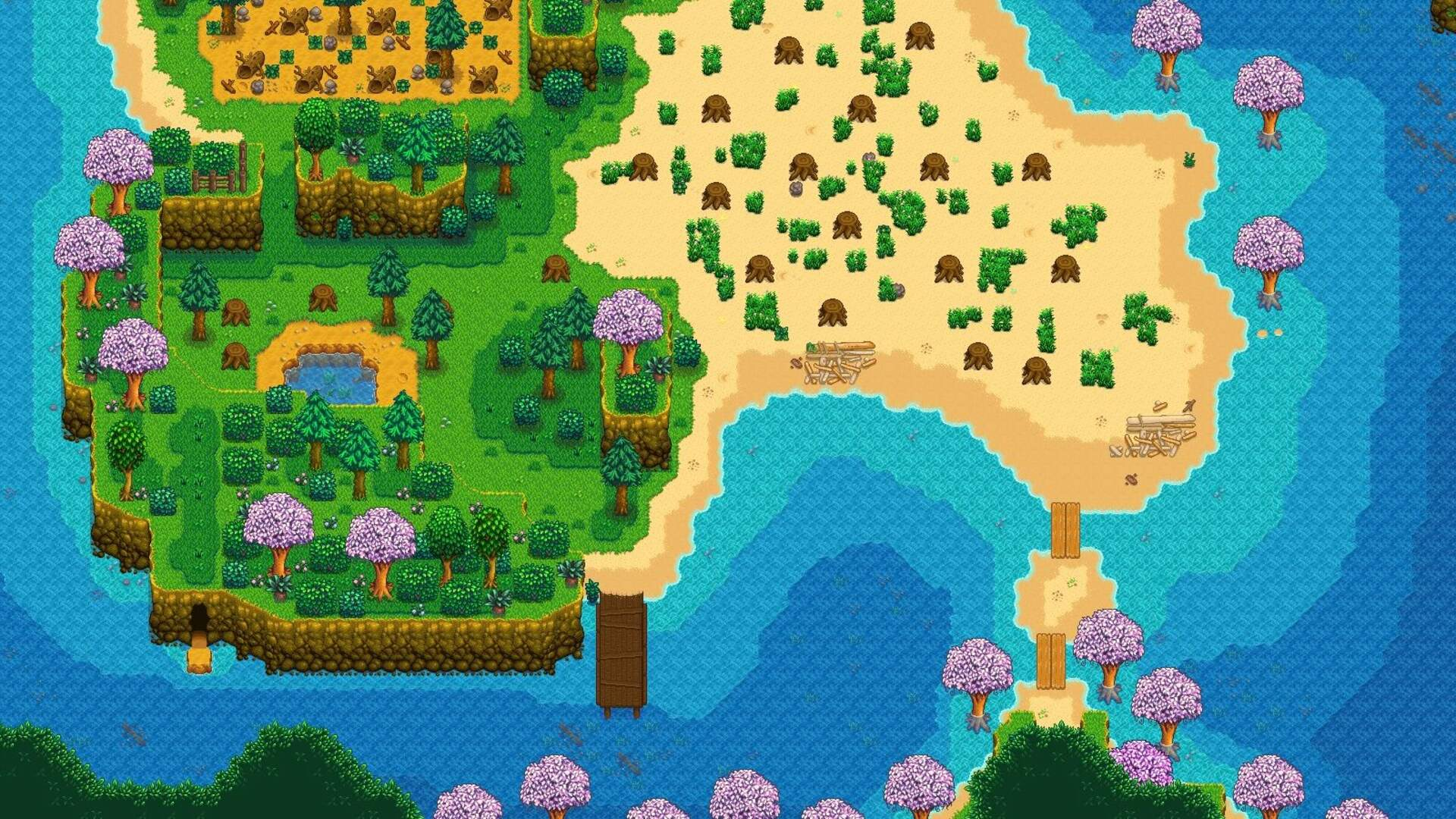 Stardew Valley Just Got Beaches, Fish Tanks, Swimming Ducks, and a Whole Lot More