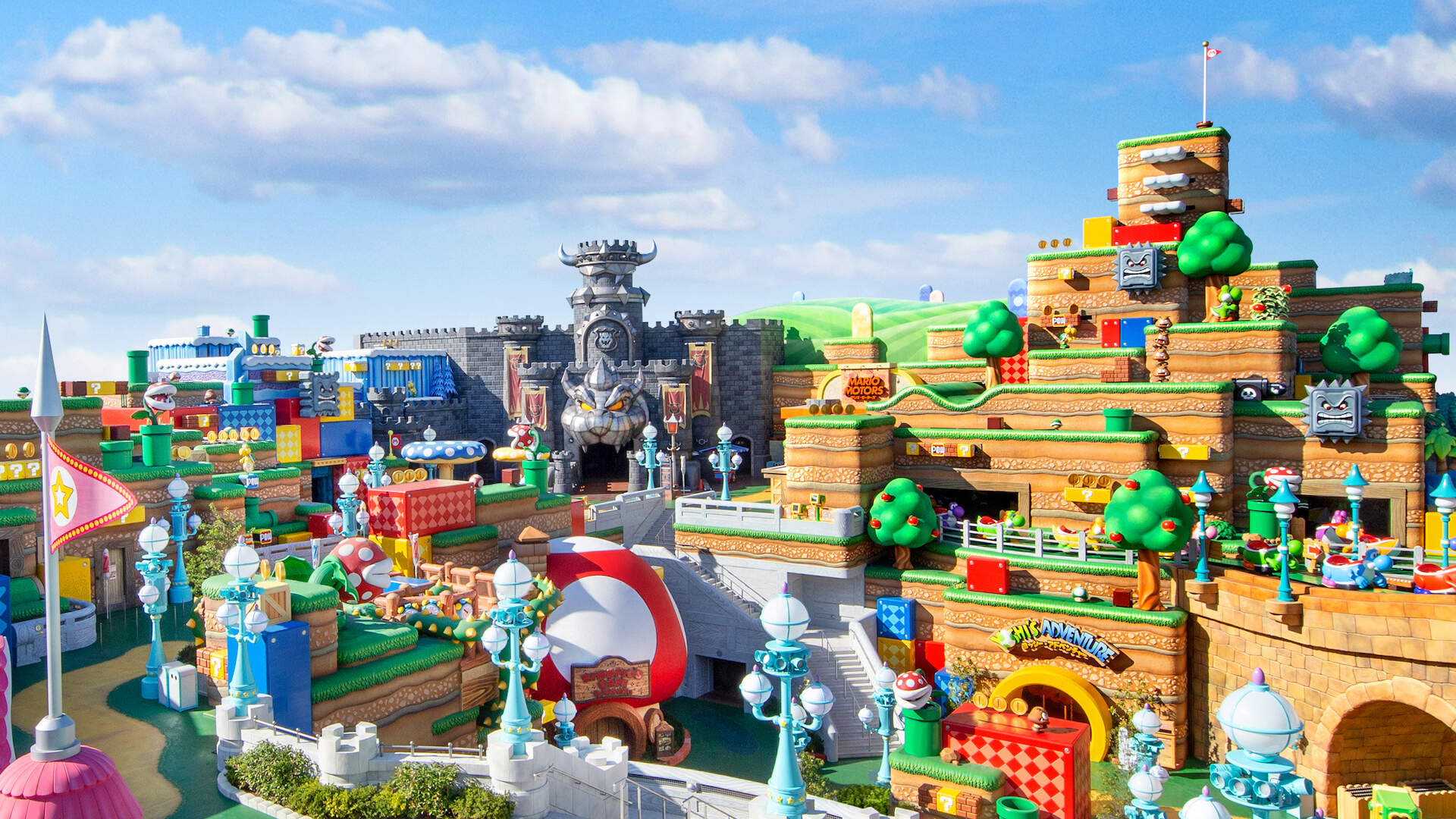 Japan's Super Nintendo World Theme Park Will Swing Open Its Gates Soon