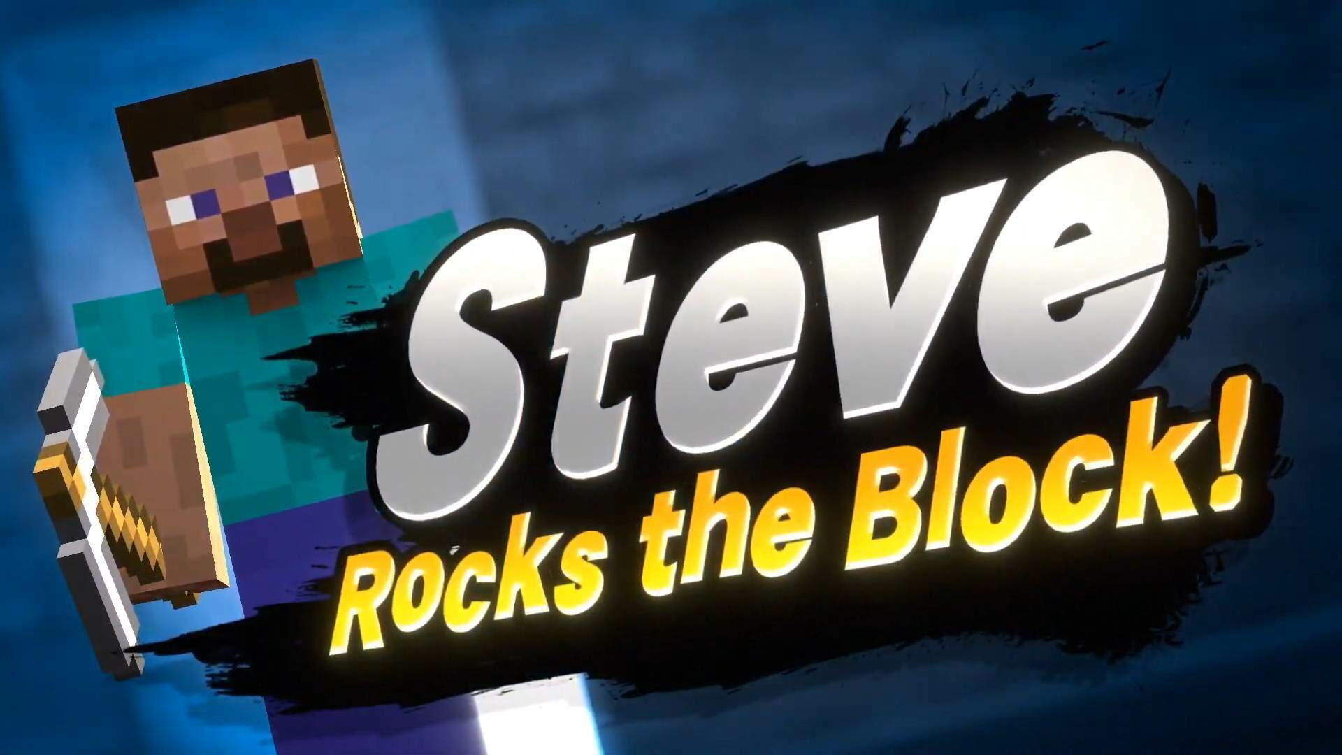 Minecraft's Steve and Pals Are the Next Fighter Joining Super Smash Bros. Ultimate