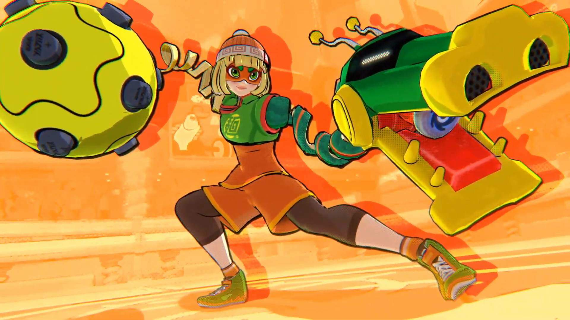Arms' Min Min Is the Next Super Smash Bros. Ultimate Fighter