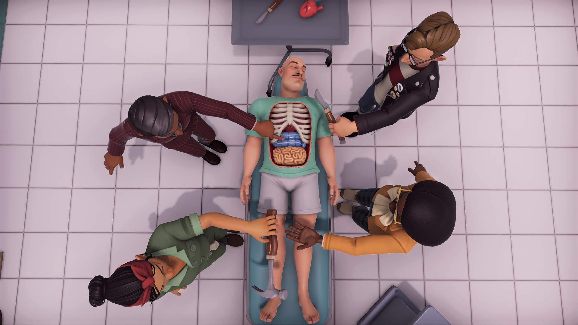How Surgeon Simulator 2 Is Trying to Be More Than a Medical Mayhem Machine