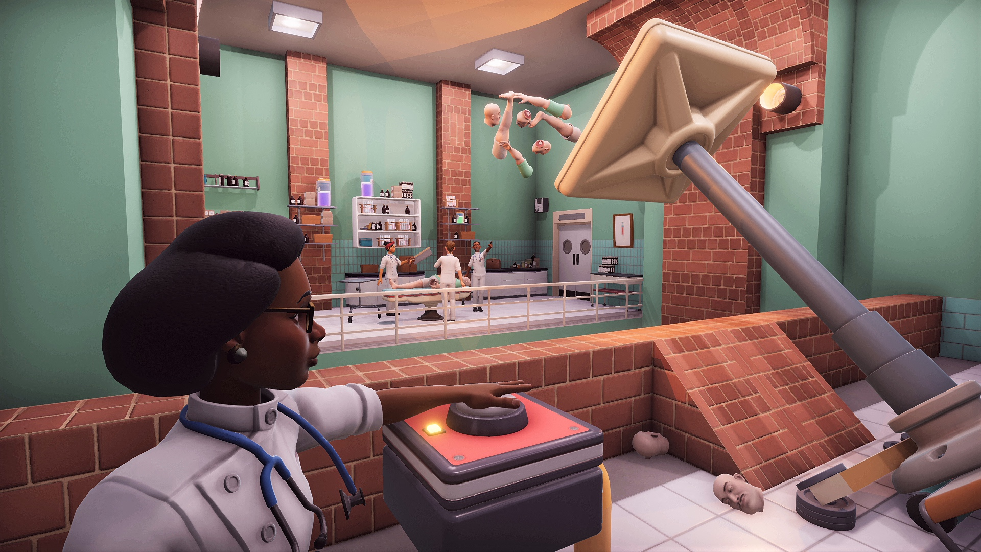 How Surgeon Simulator 2 Is Trying To Be More Than A Medical Mayhem Machine Usgamer