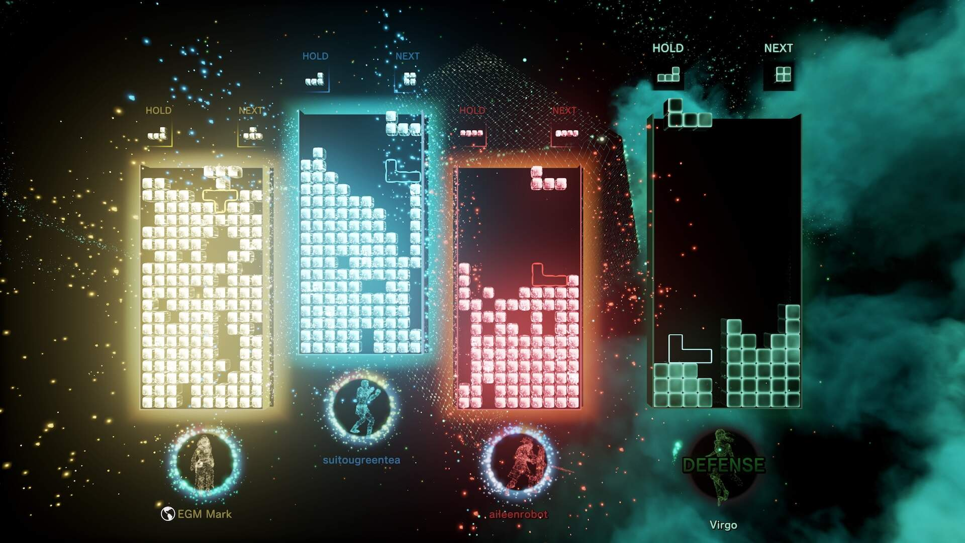Tetris Effect: Connected Brings Some Competitive Edge Back to the Chillest Tetris
