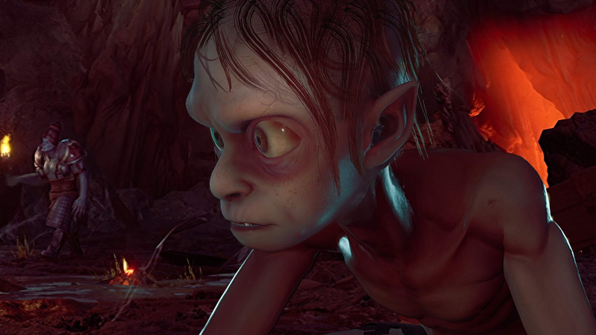 Daedalic's Version of Gollum is Deliberately Less Creepy Than in The Lord of the Rings Films