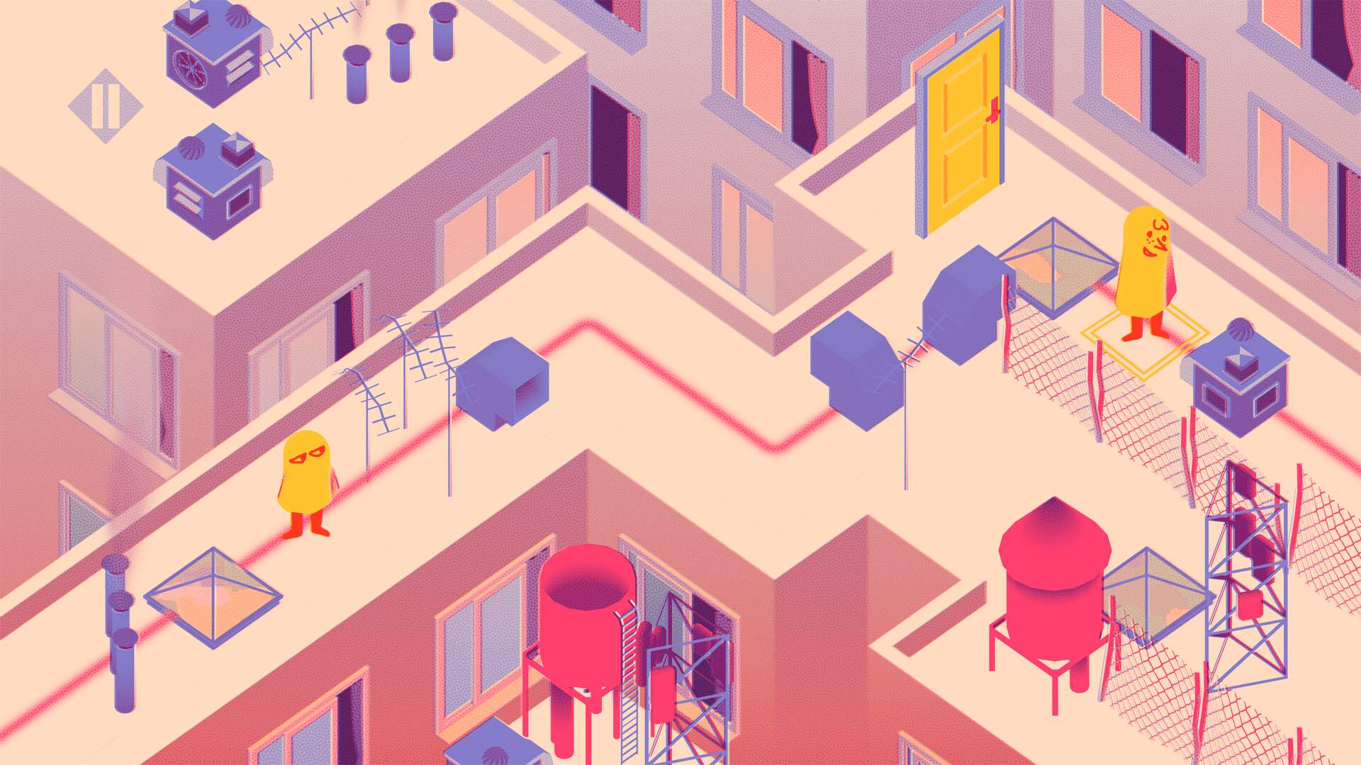 The Other Side is a Meditative Mobile Puzzle Game for Anxious Times