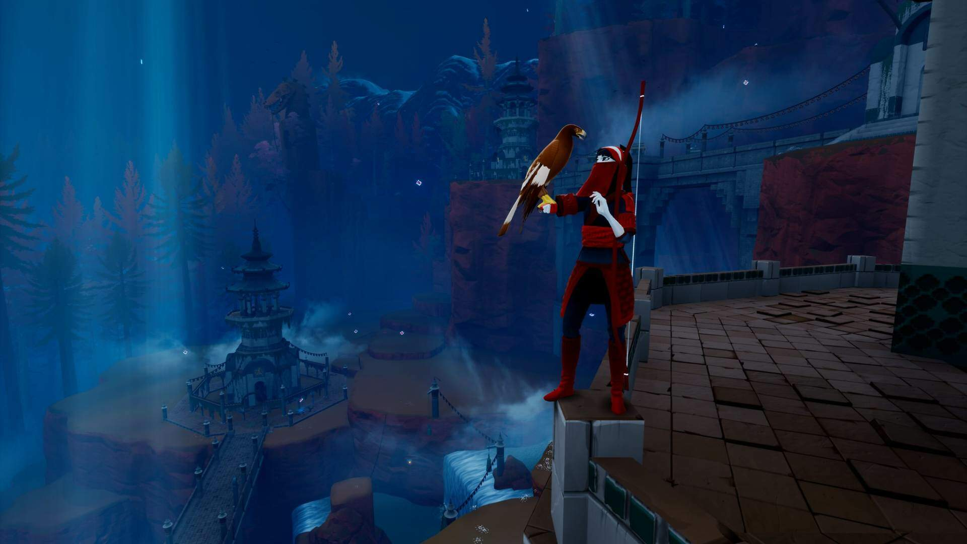 The Pathless, the New Game From the Studio Behind Abzu, Is a PS5 Launch Title