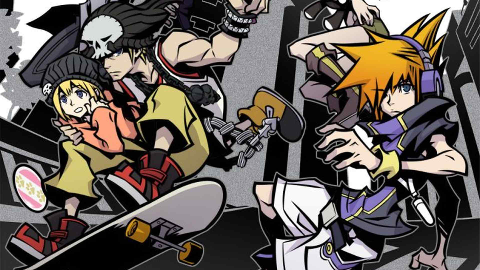 The World Ends With You Resurfaces in Upcoming Anime Expo Key Art