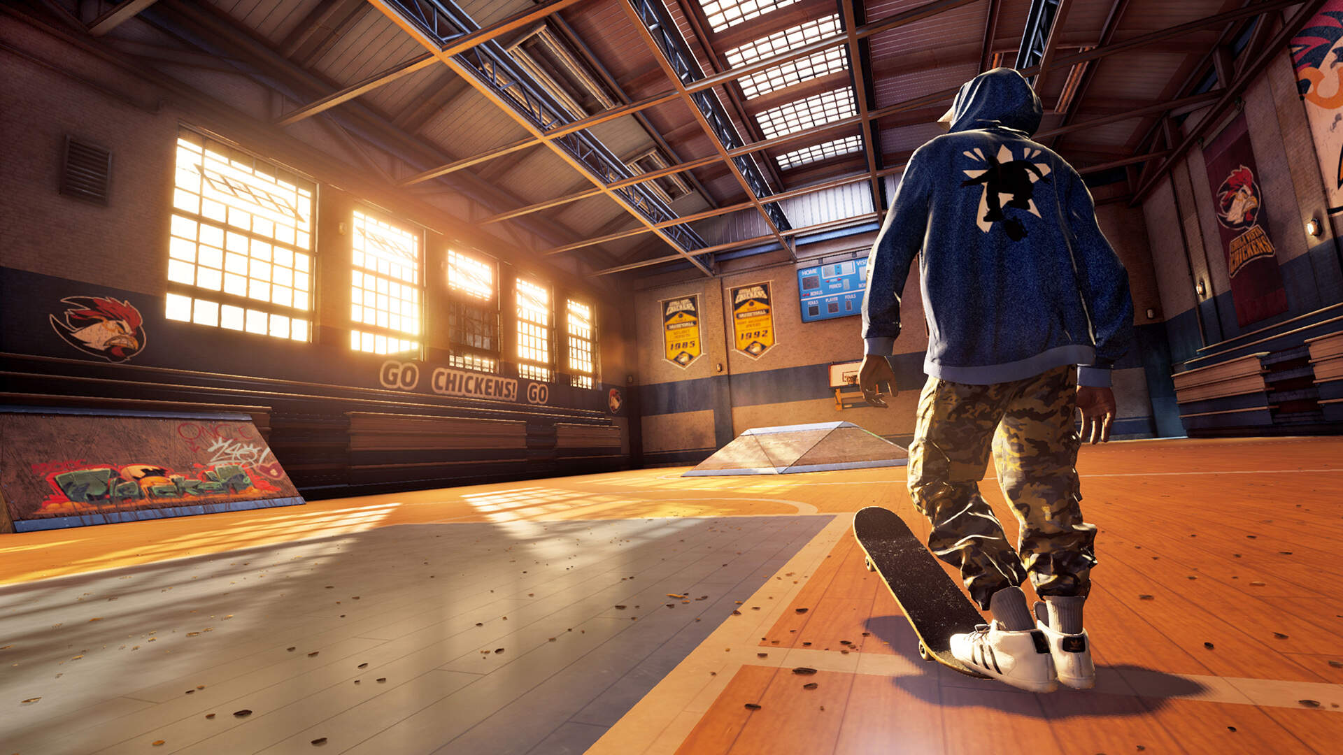 Want The Tony Hawk Remaster Warehouse Demo You Can Get It With A Burrito Usgamer