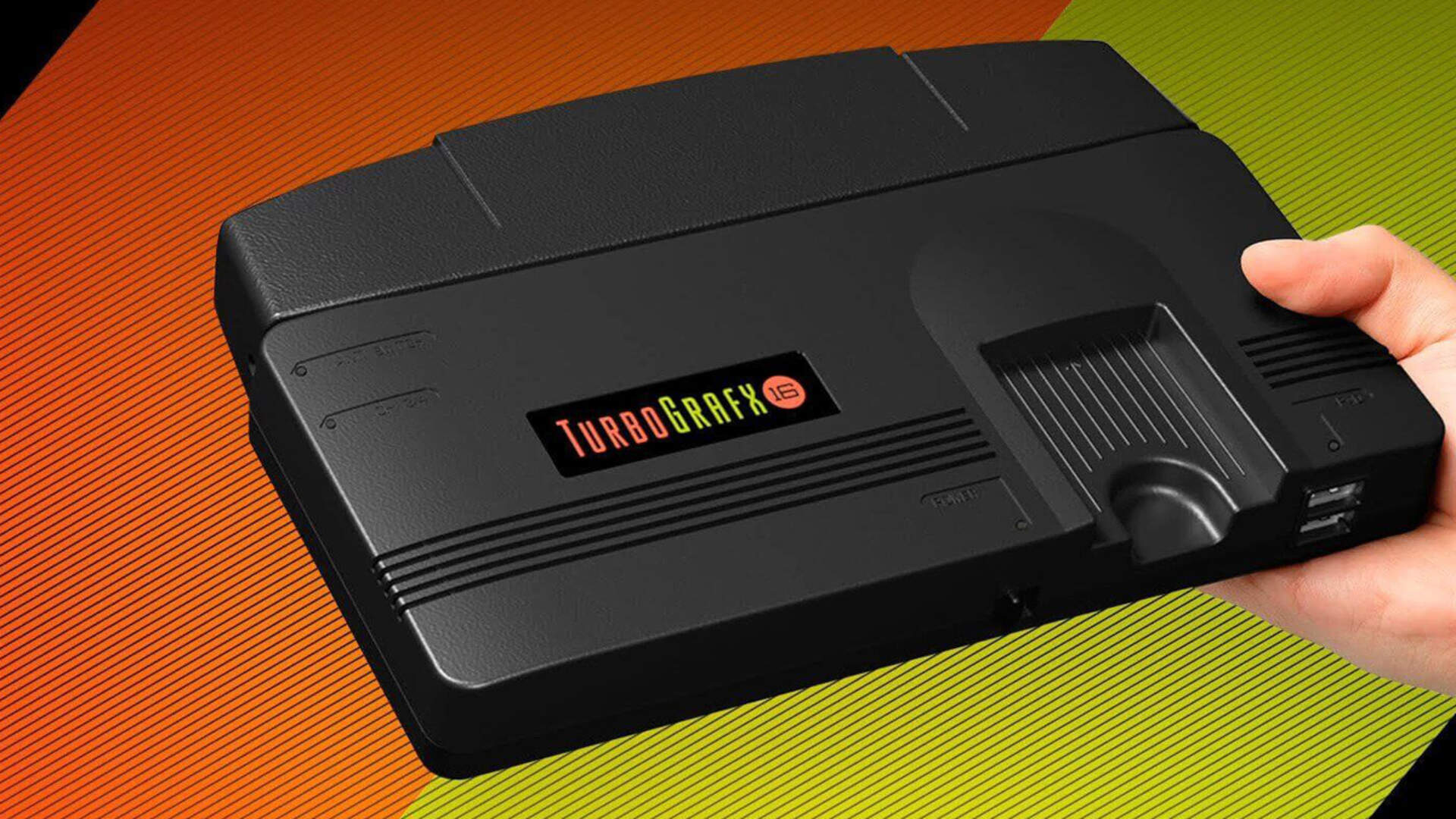 The TurboGrafx-16 Mini Should Start Arriving in North America Next Week