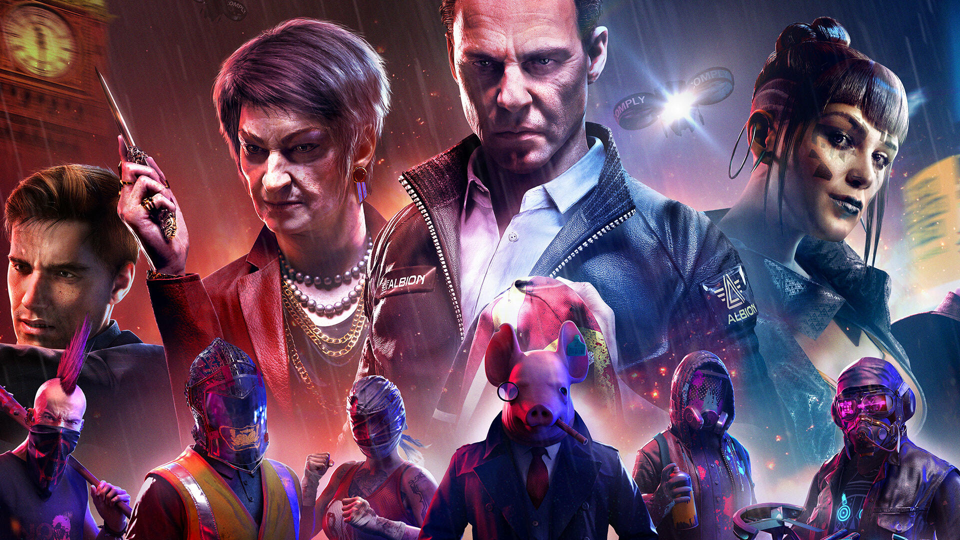 Watch Dogs Legion Features A Descendant Of Assassin S Creed Syndicate S Protagonist Usgamer