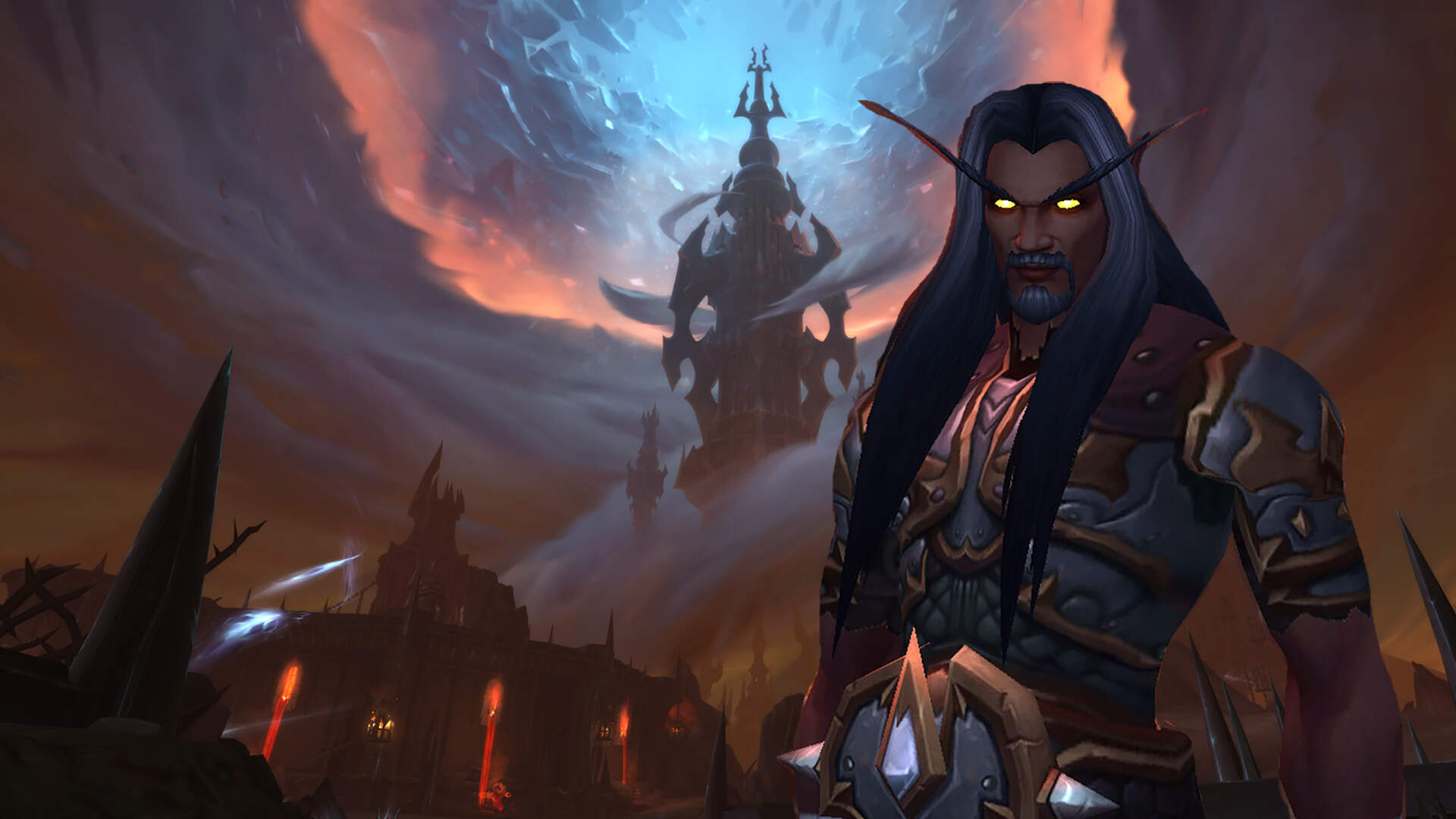 WoW Shadowlands Deep Dive: Exploring The Maw, Building a Home For Your Covenant, and Making My Blood Elf Black