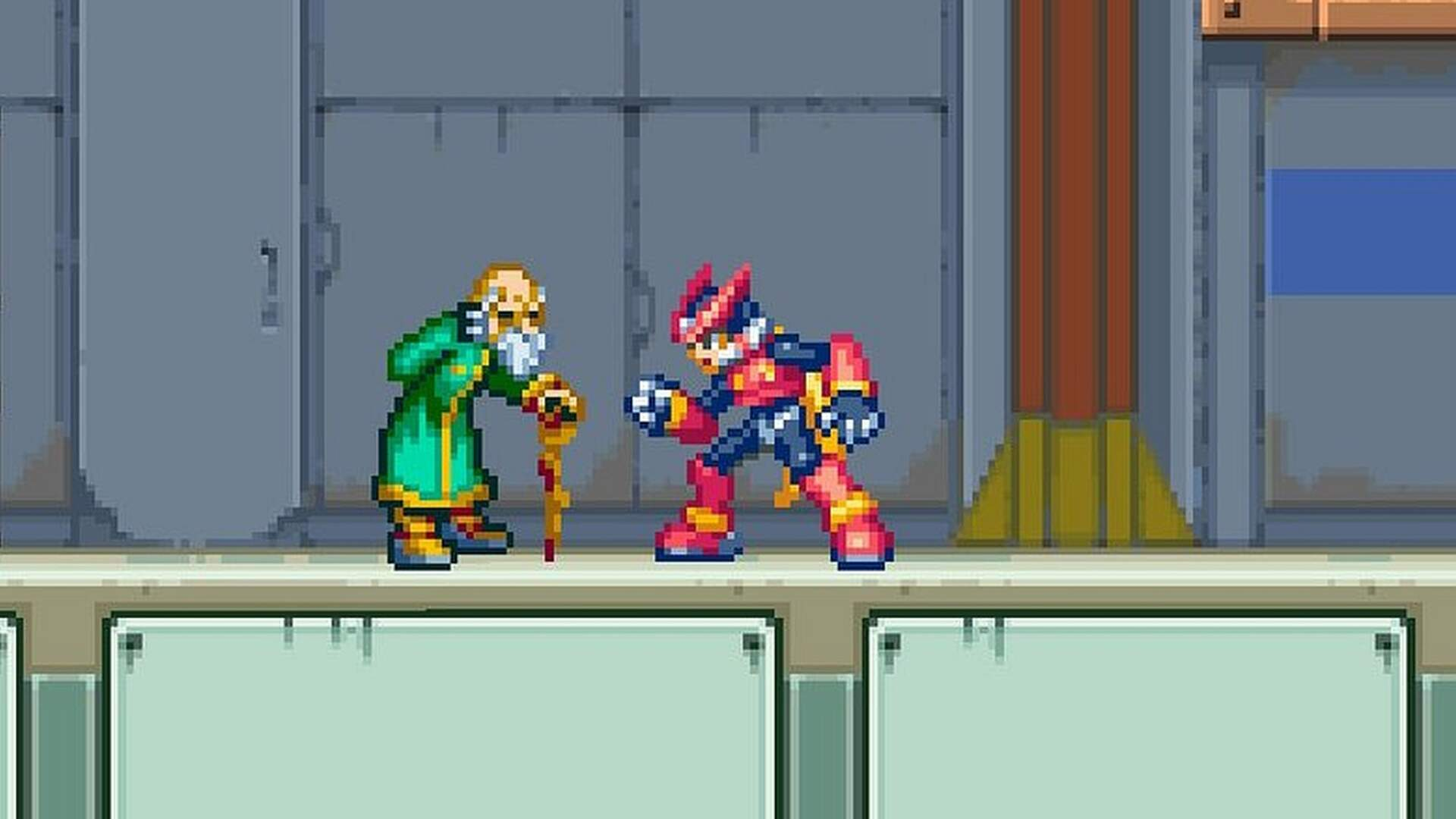 The Most Interesting Mega Man Character is a Reploid Who Fell in Love with a Human