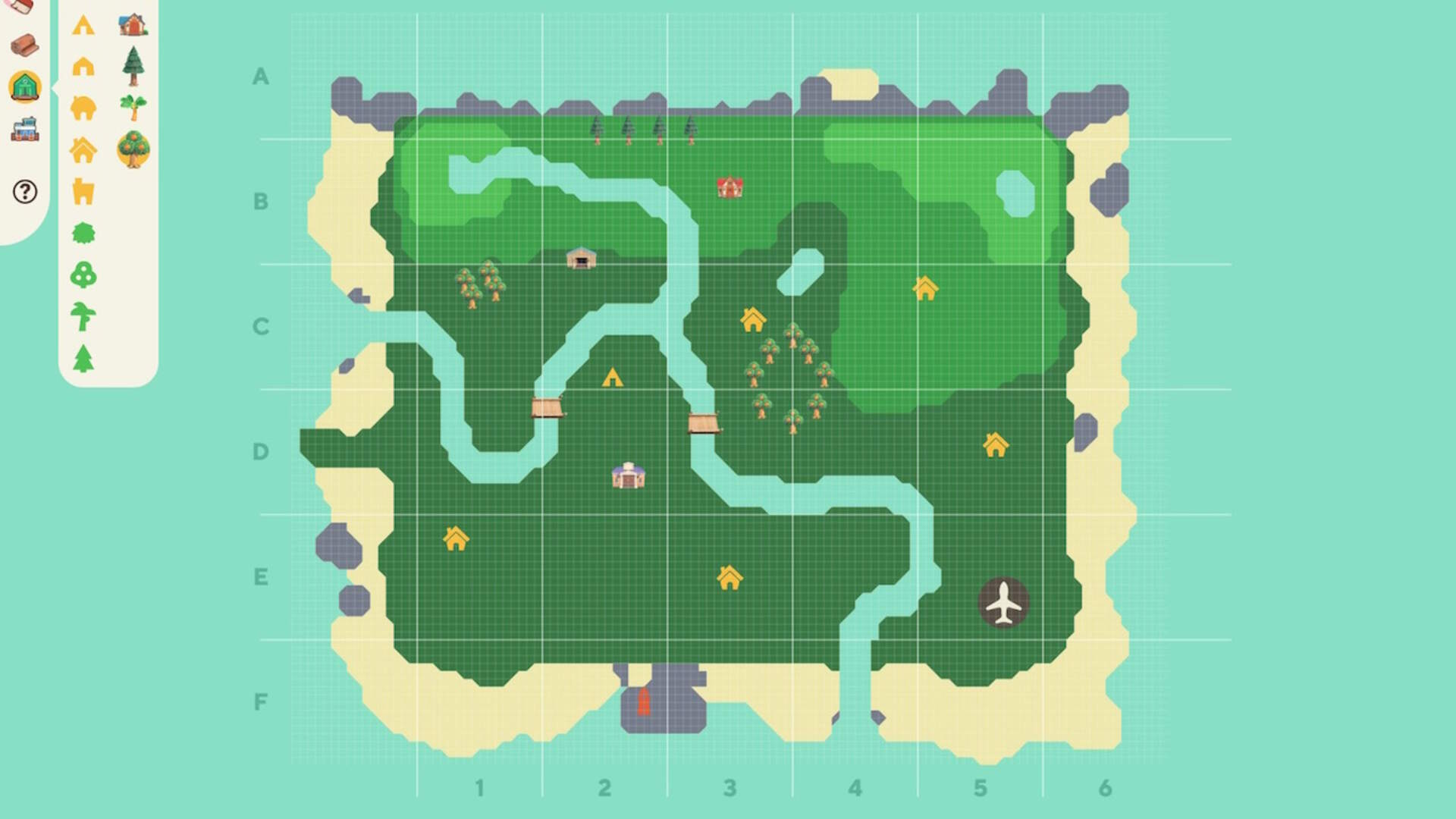 A Fan-Made Animal Crossing: New Horizons Map Tool Gives You a Head Start on Your Island Home