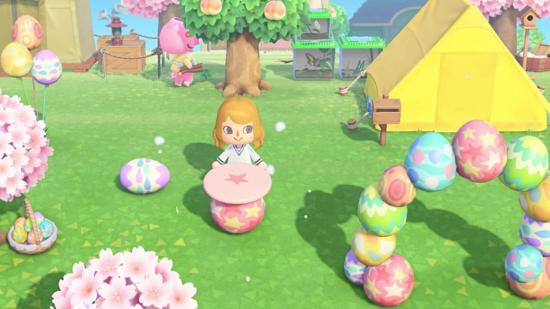 Animal Crossing: New Horizons Gets Details on April's Bunny Day and Earth Day Updates