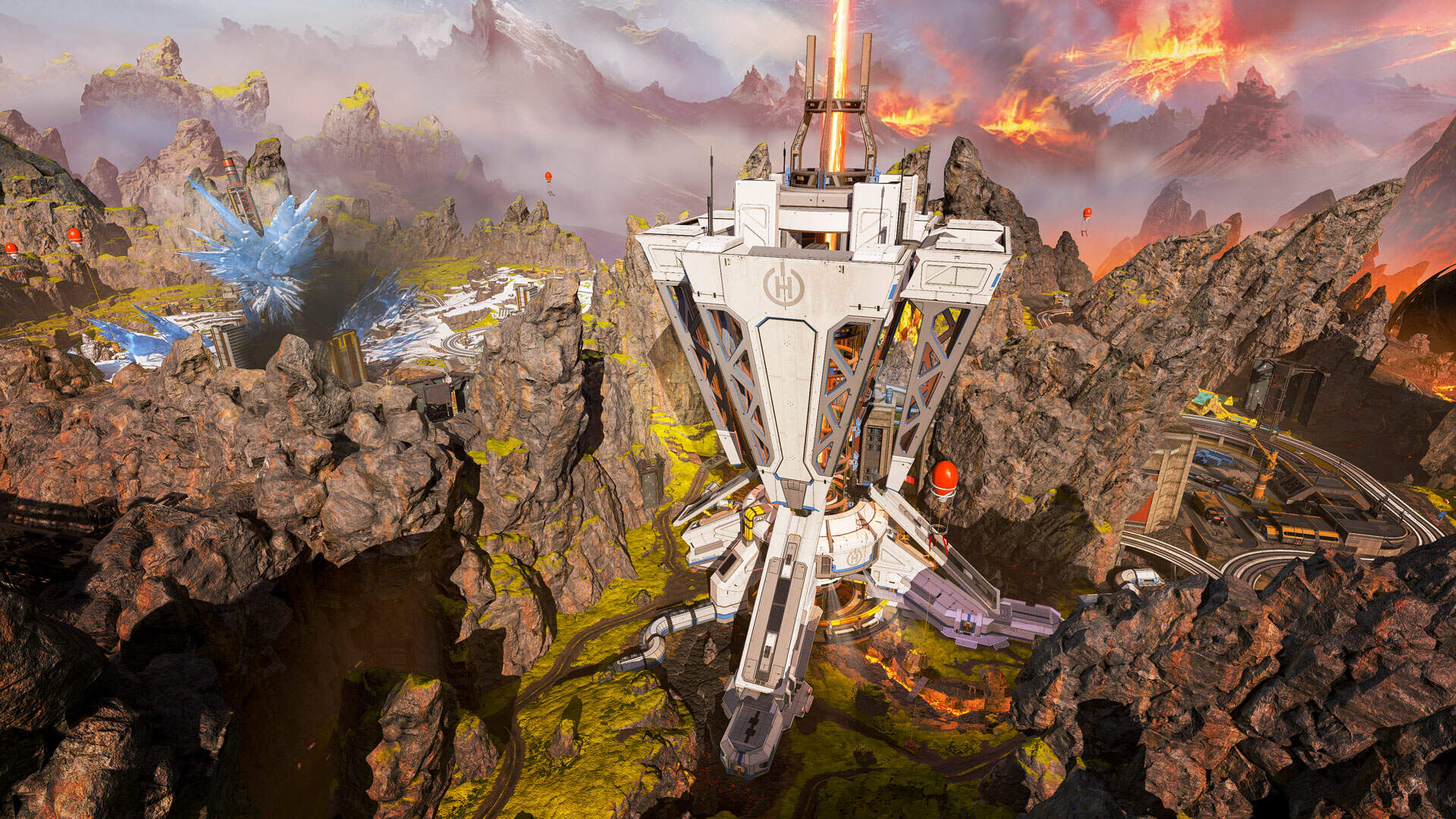 Apex Legends Changes Map Rotation Again, Eliminating King's Canyon After Dark